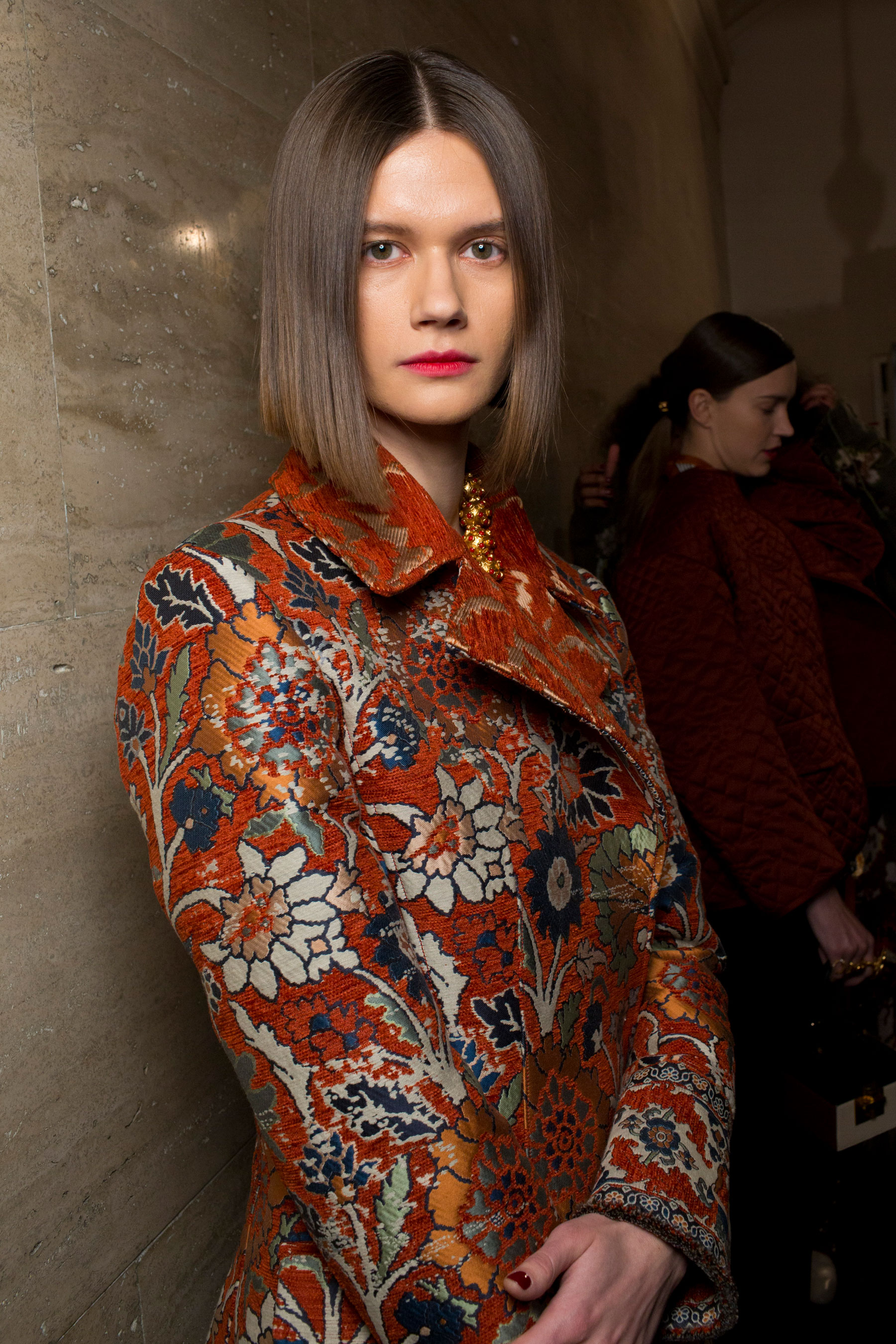 Oscar De La Renta Fall 2019 Fashion Show Backstage