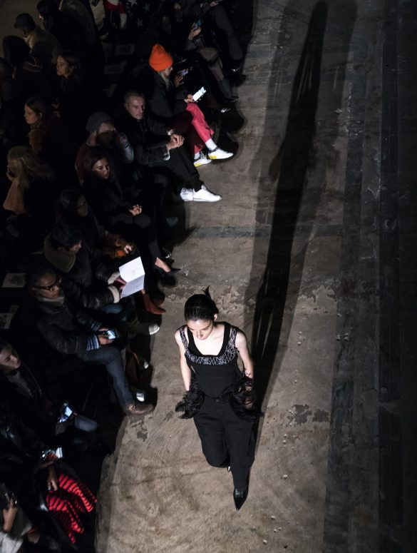 Dion Lee Fall 2019 Fashion Show Atmosphere