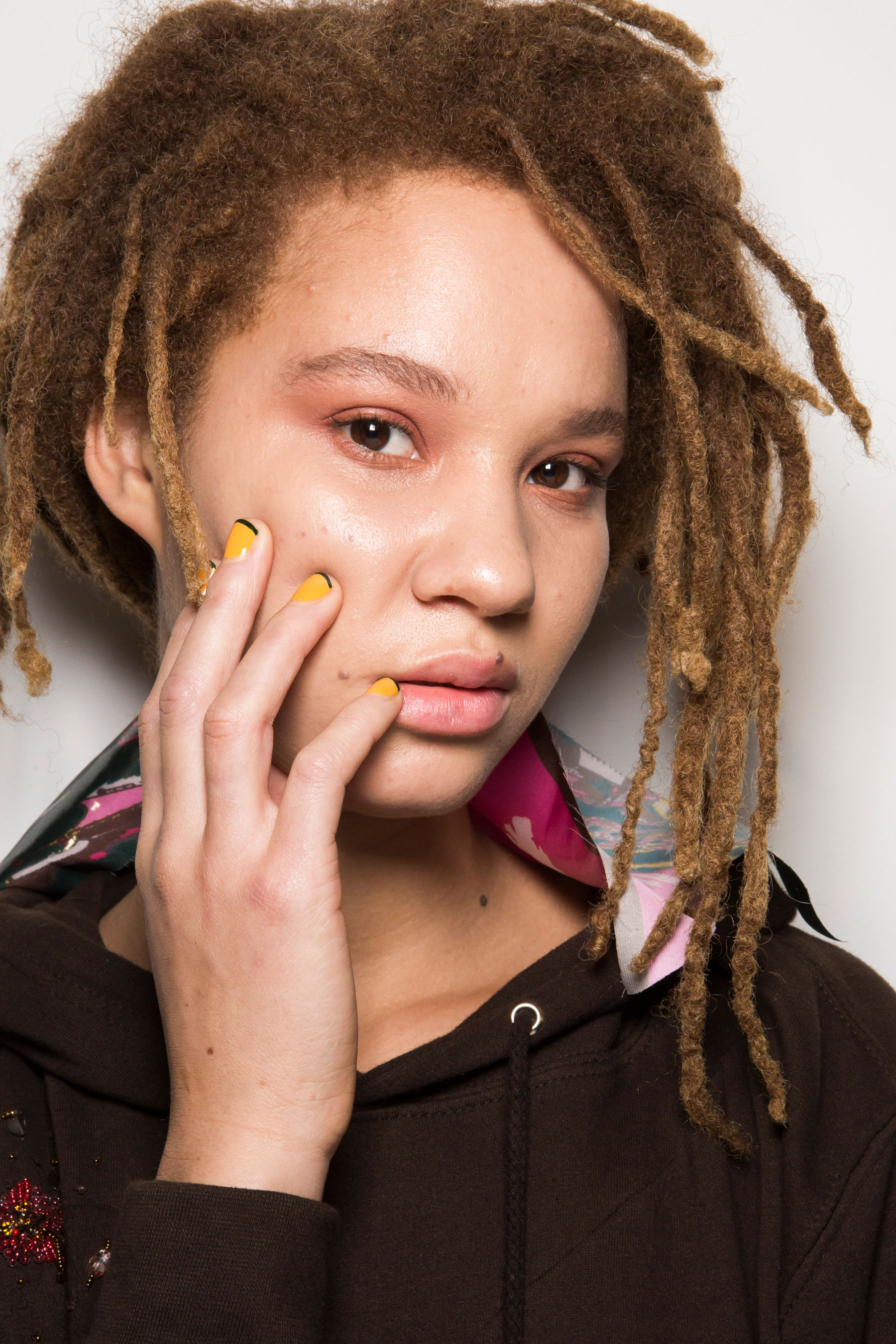 Roberta Einer Fall 2019 Fashion Show Backstage