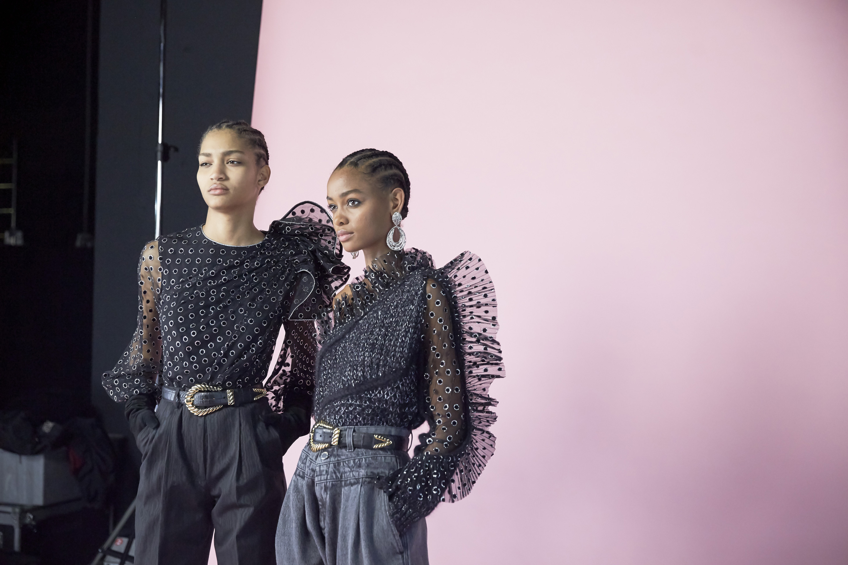 The Best Backstage Photos From Milan Fashion Week Fall 2019