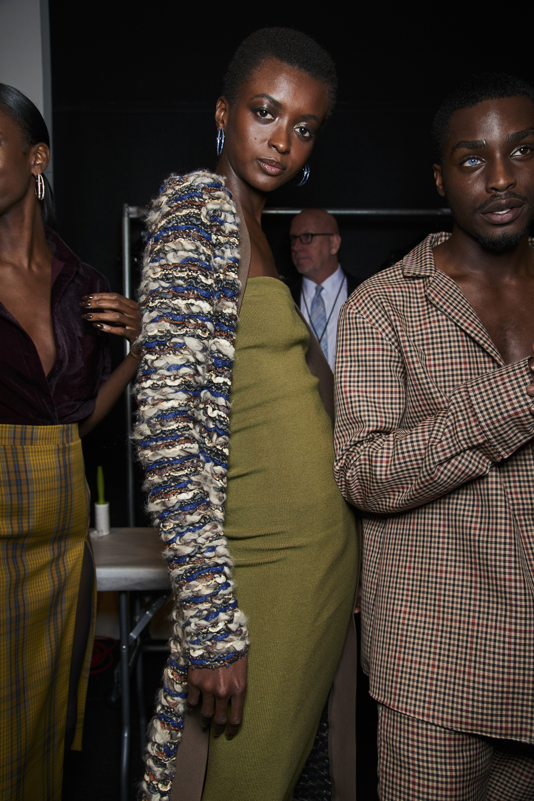 Laquan Smith Fall 2019 Fashion Show Backstage