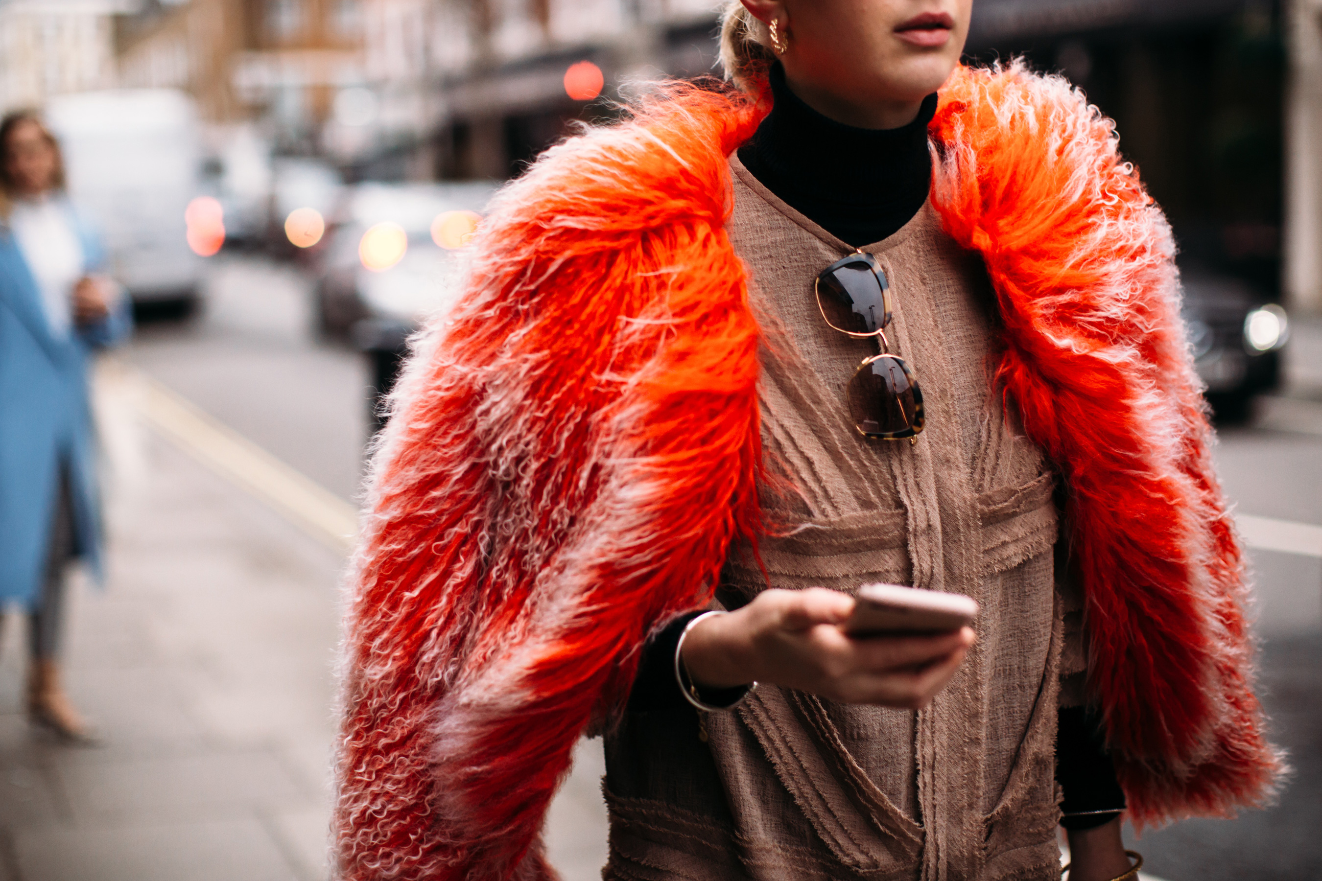 London Fashion Week Street Style Fall 2019 Day 2