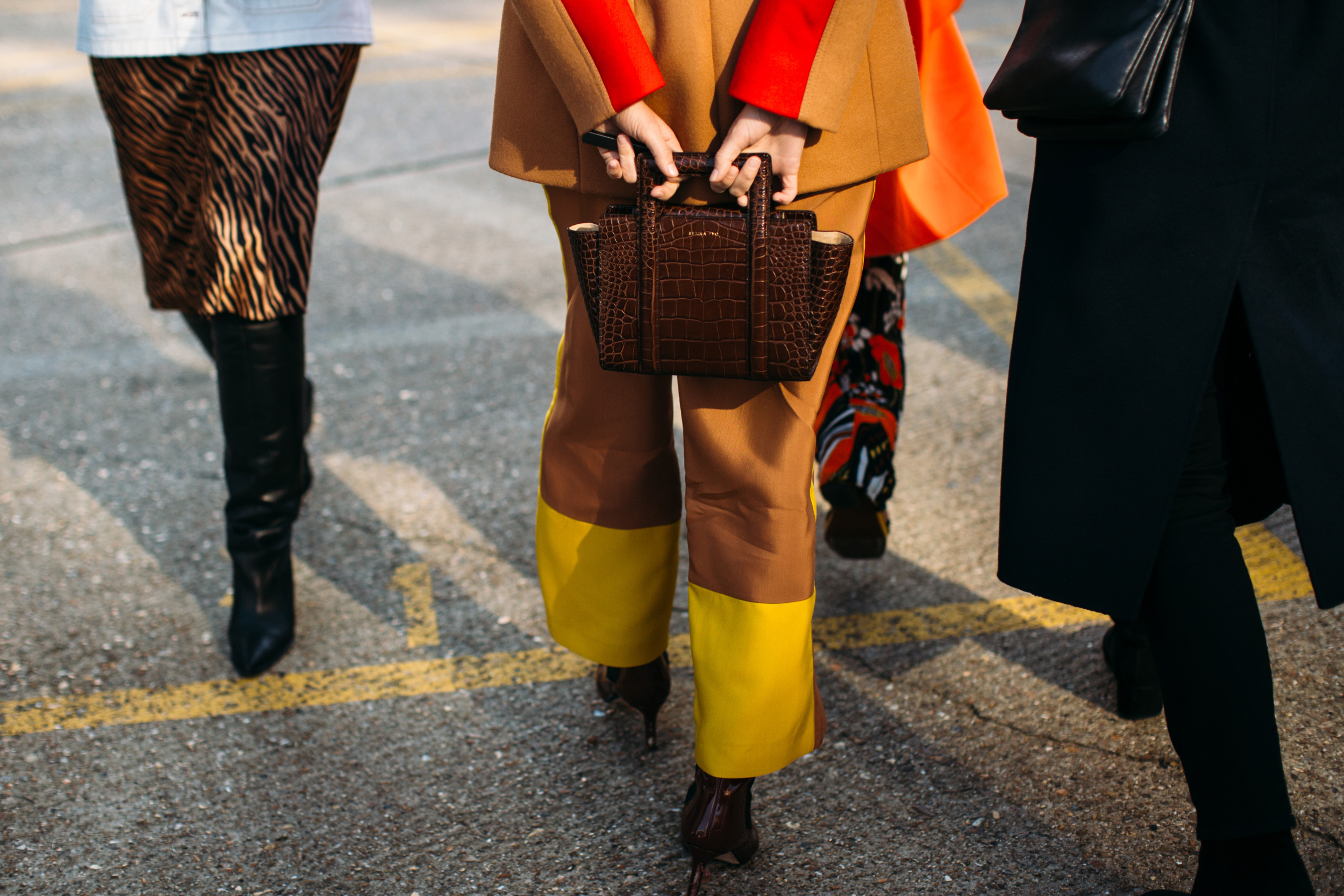 London Fashion Week Street Style Fall 2019 Day 3