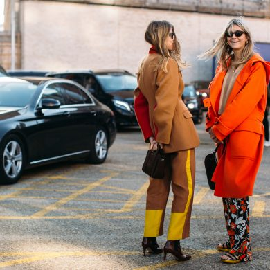 London Fashion Week Street Style Fall 2019 Day 3