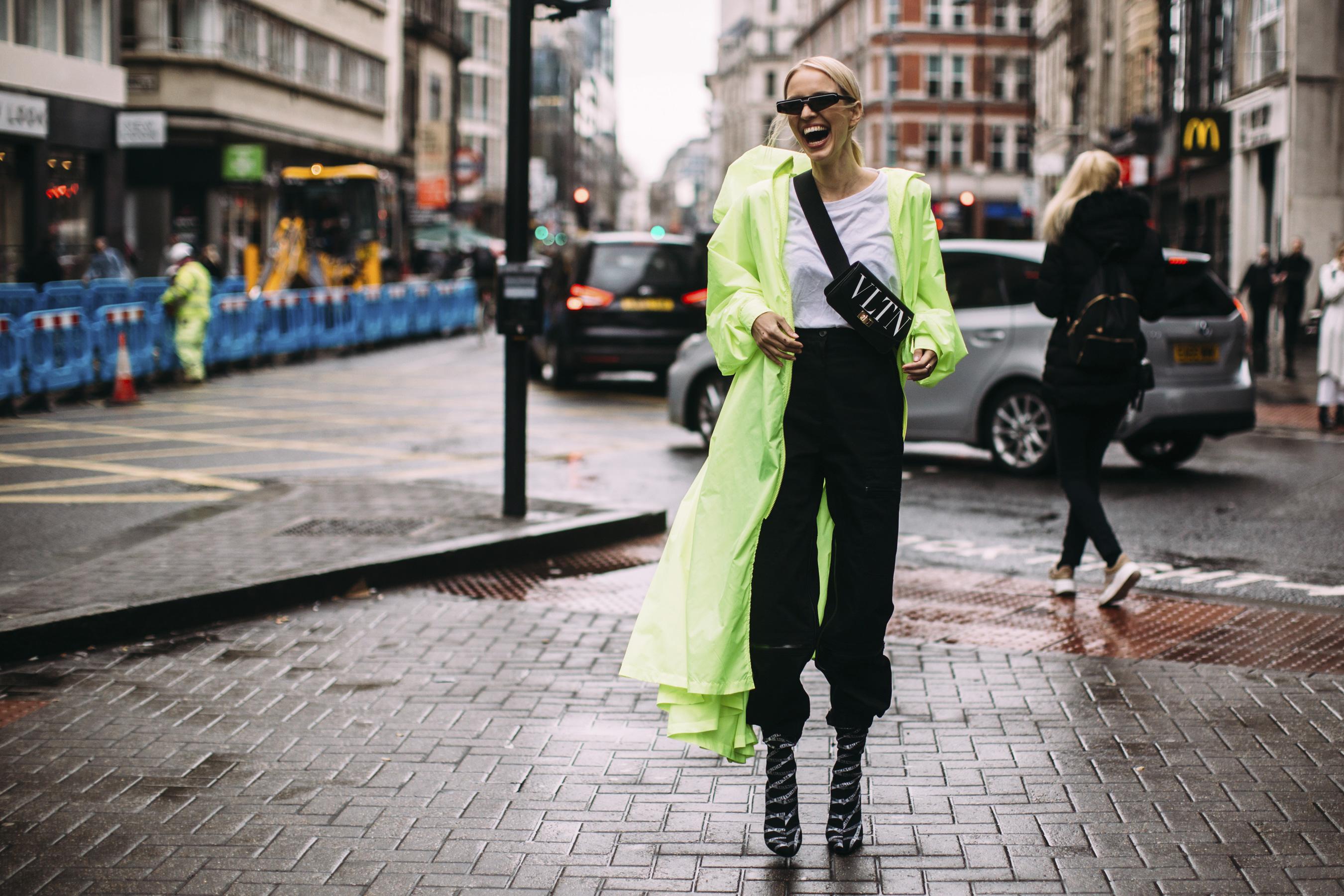 London Fashion Week Street Style Fall 2019 Day 4