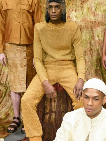 Lukhanyo Mdingi Presentation Fall 2019 Men's Fashion Show