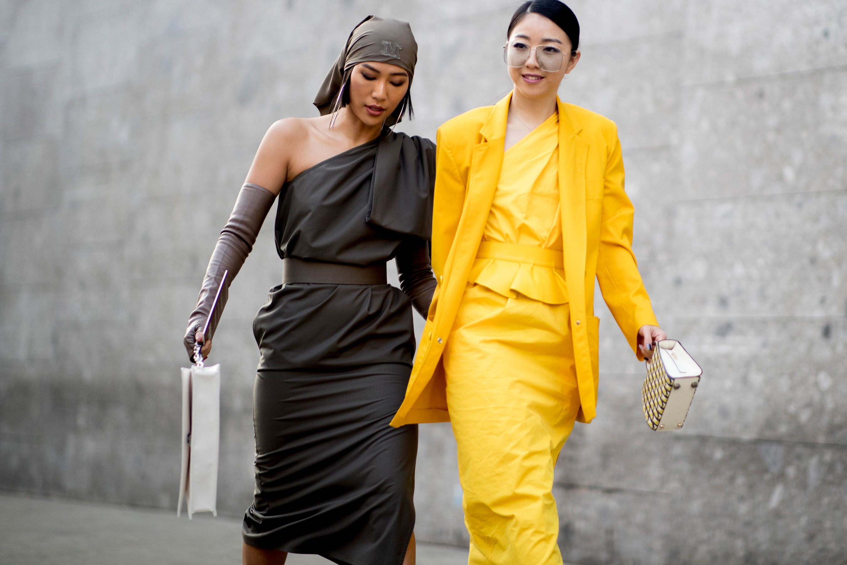 Milan Fashion Week Street Style Fall 2019 Day 2