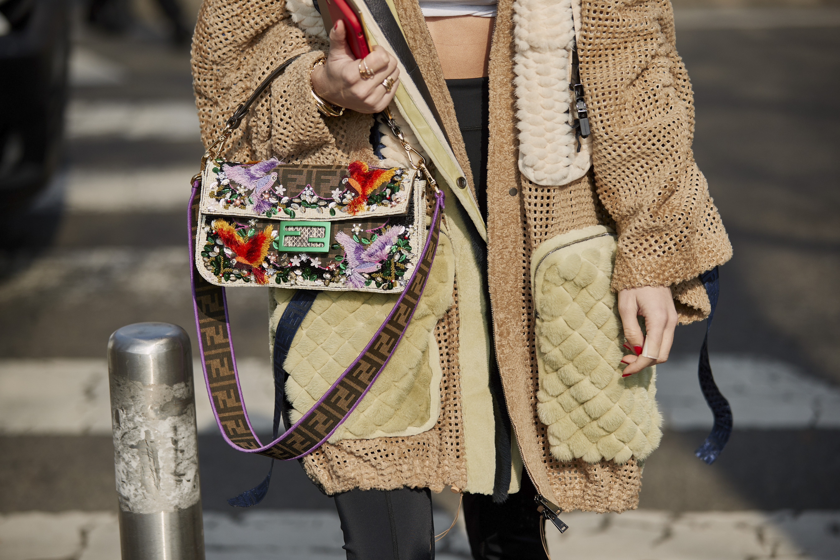 Milan Fashion Week Street Style Fall 2019 Day 2 Accessories