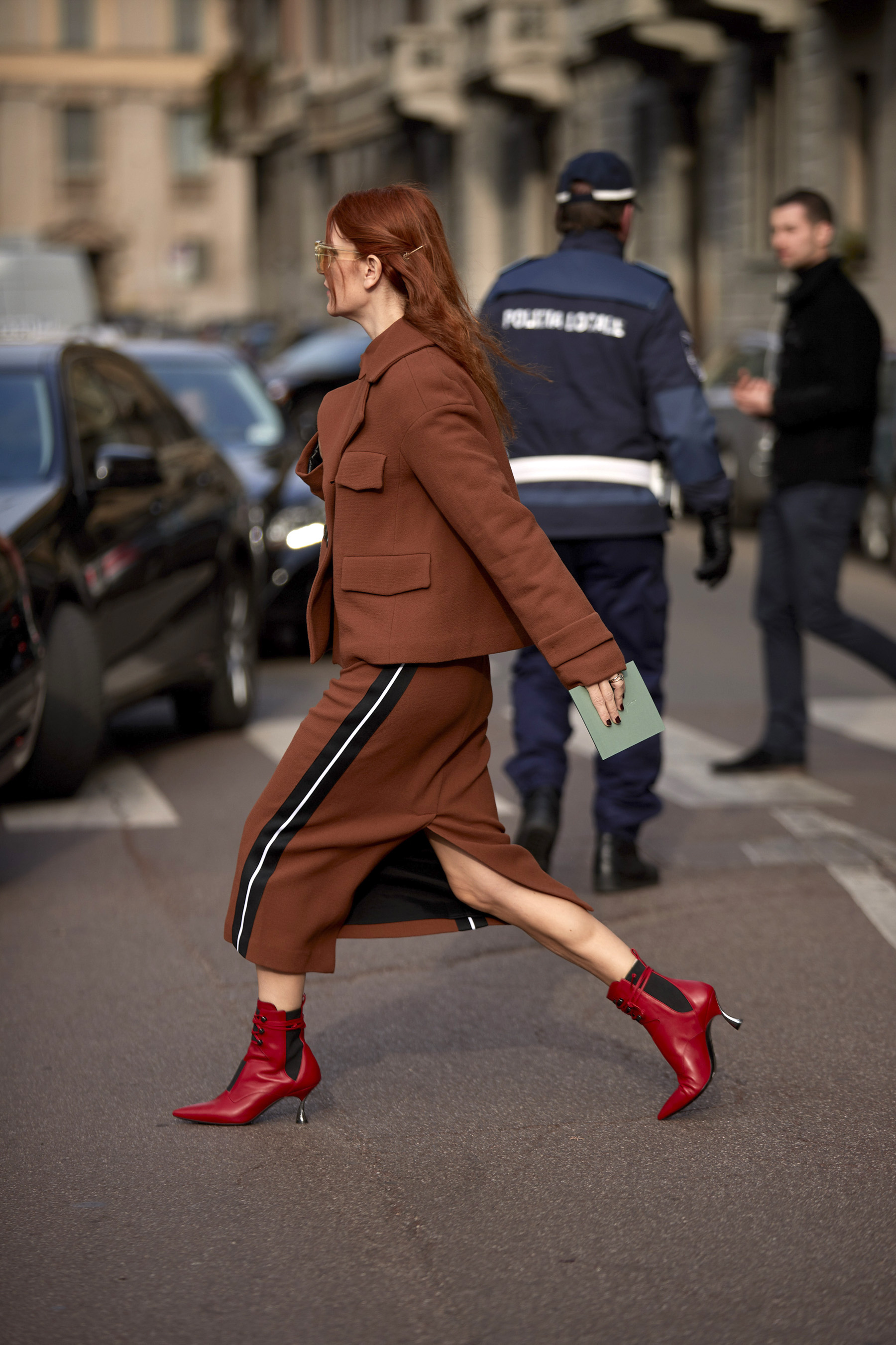 Best Street Style Photos From Milan Fashion Week Fall 2019