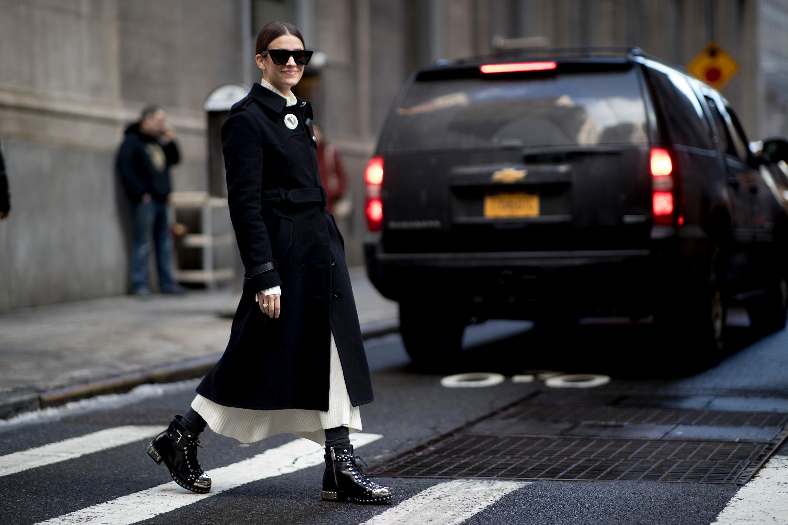 New York Fashion Week Street Style Fall 2019 Day 8