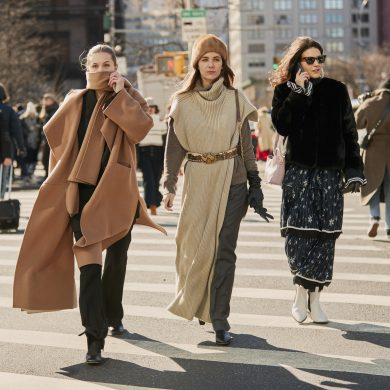 New York Fashion Street Style The Best Ny Street Style The