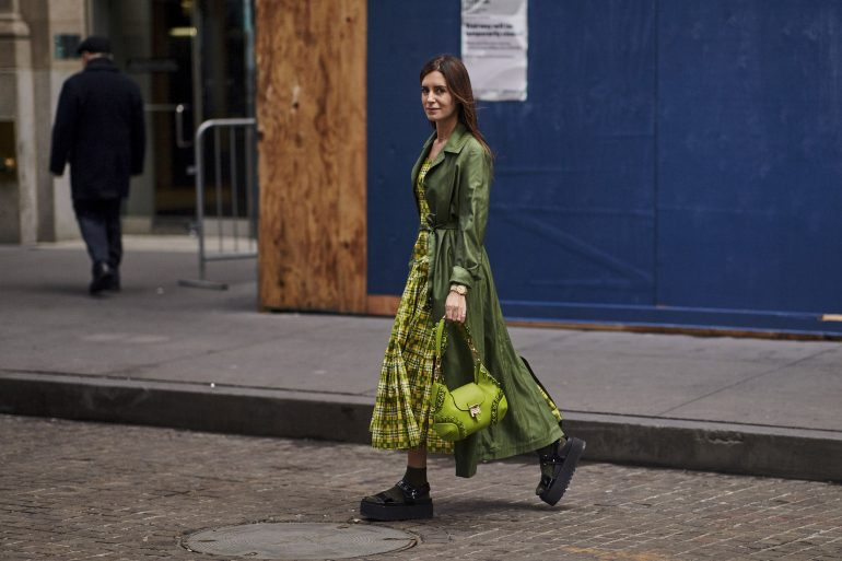 New York Fashion Week Street Style Fall 2019 Day 8