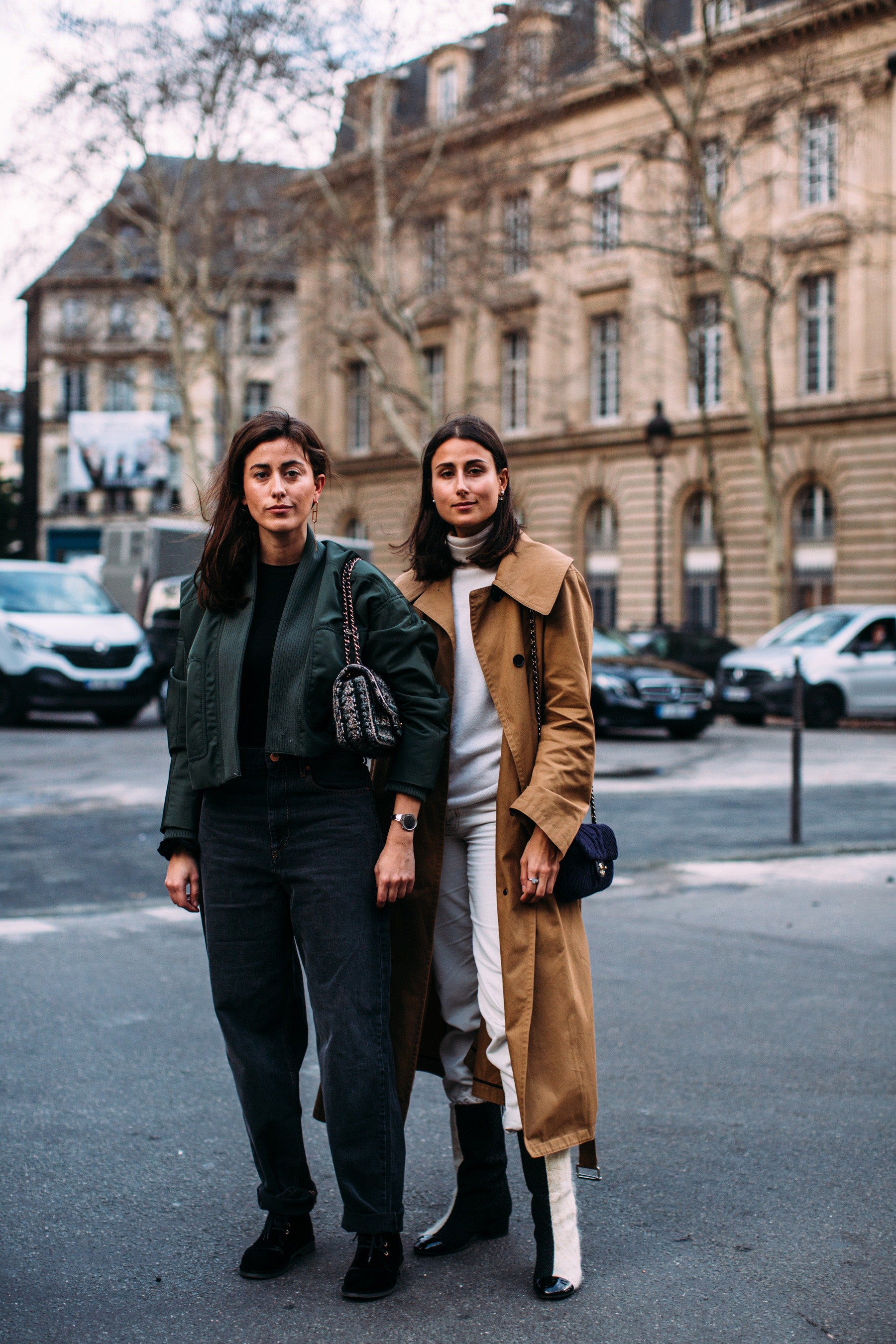 Paris Fashion Week Street Style Fall 2019 Day 3