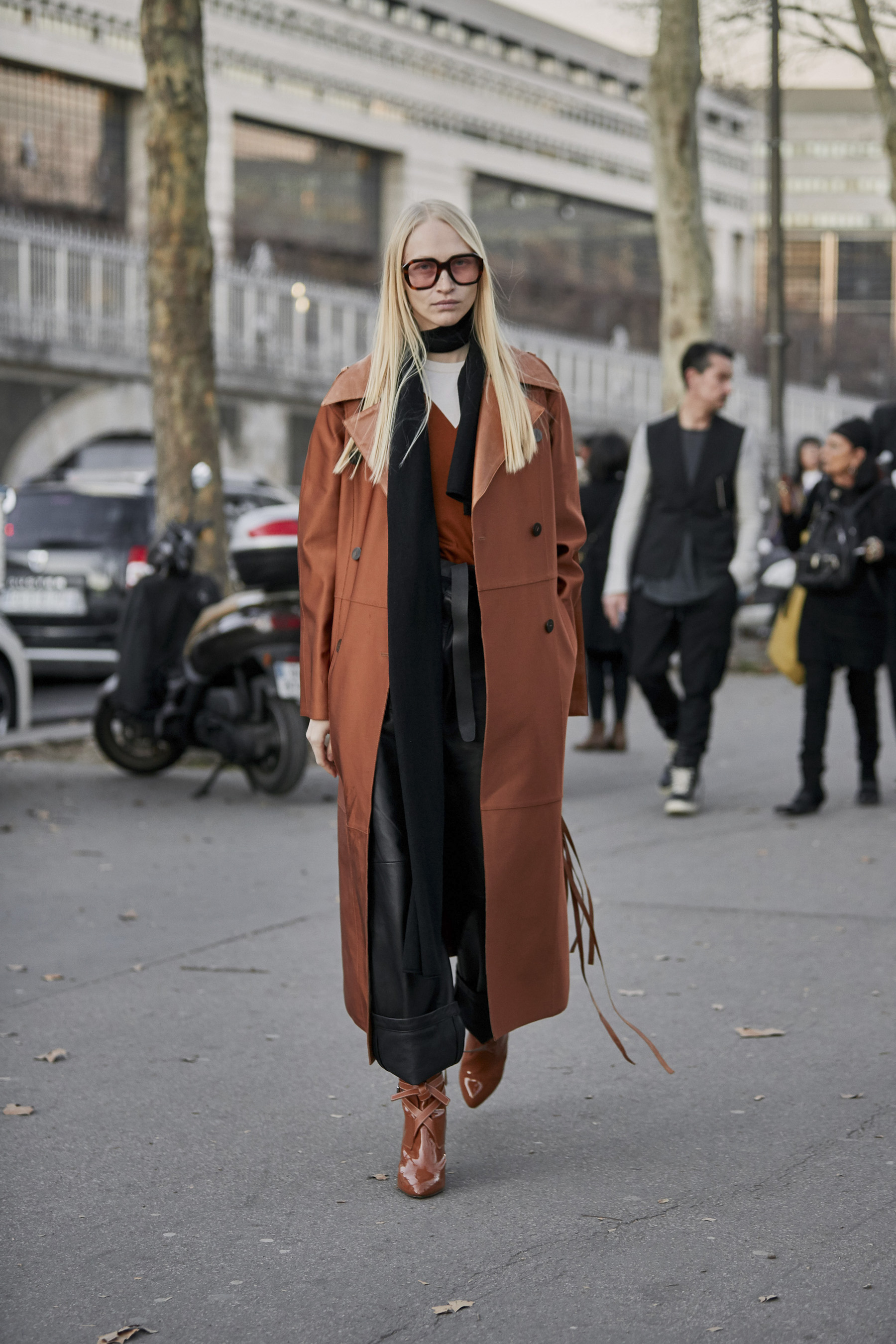 Paris Fashion Week Street Style Fall 2019 Day 2
