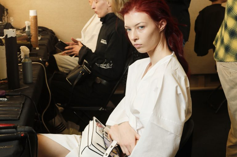 Ports 1961 Fall 2019 Fashion Show Backstage Beauty