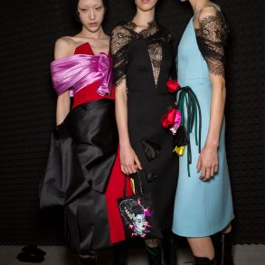 Prada Fall 2019 Fashion Show Backstage