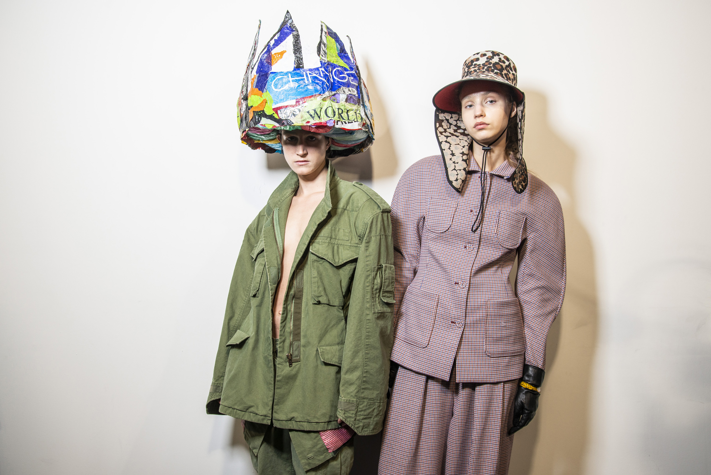 Pushbutton Fall 2019 Fashion Show Backstage