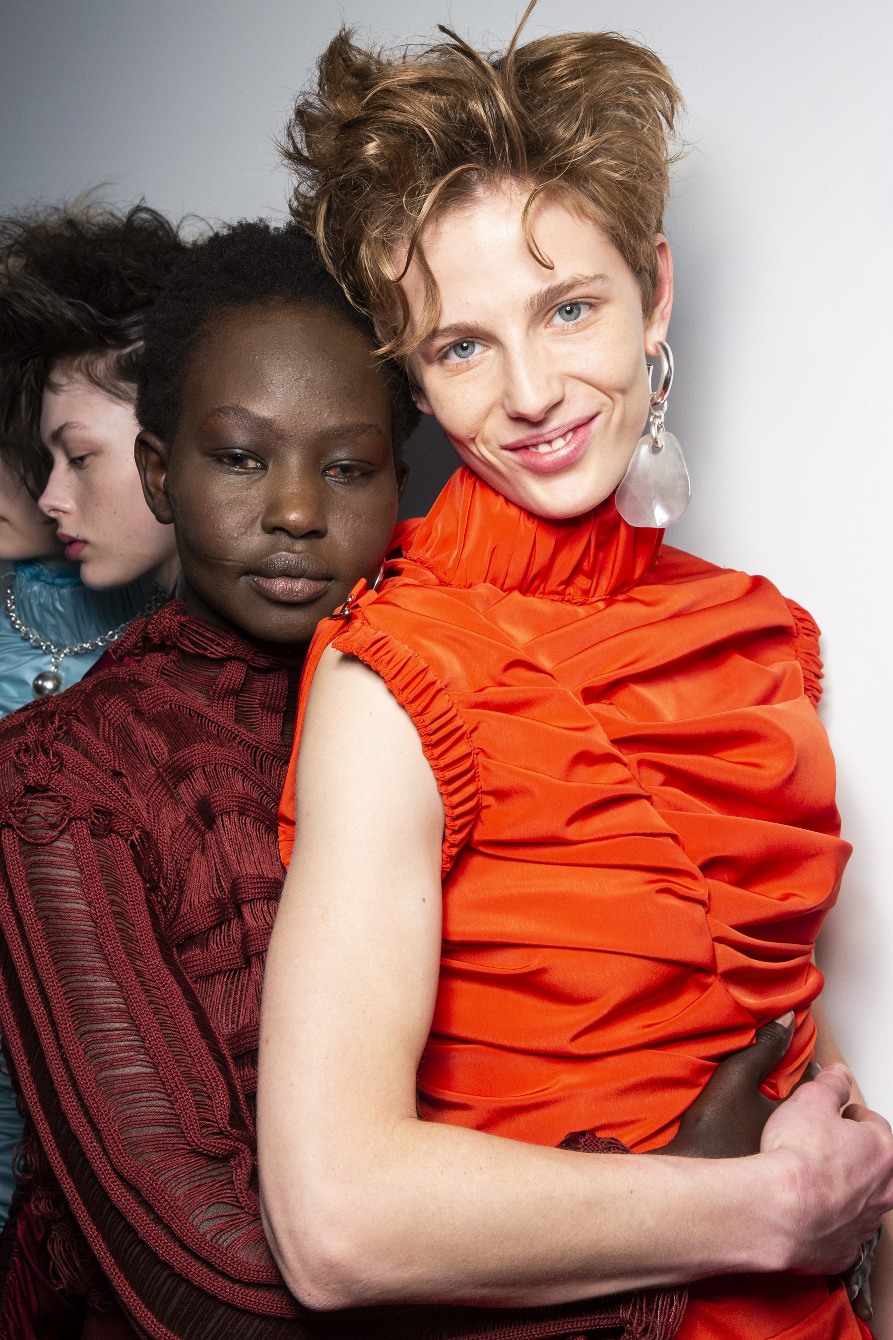 Richard Malone Fall 2019 Fashion Show Backstage
