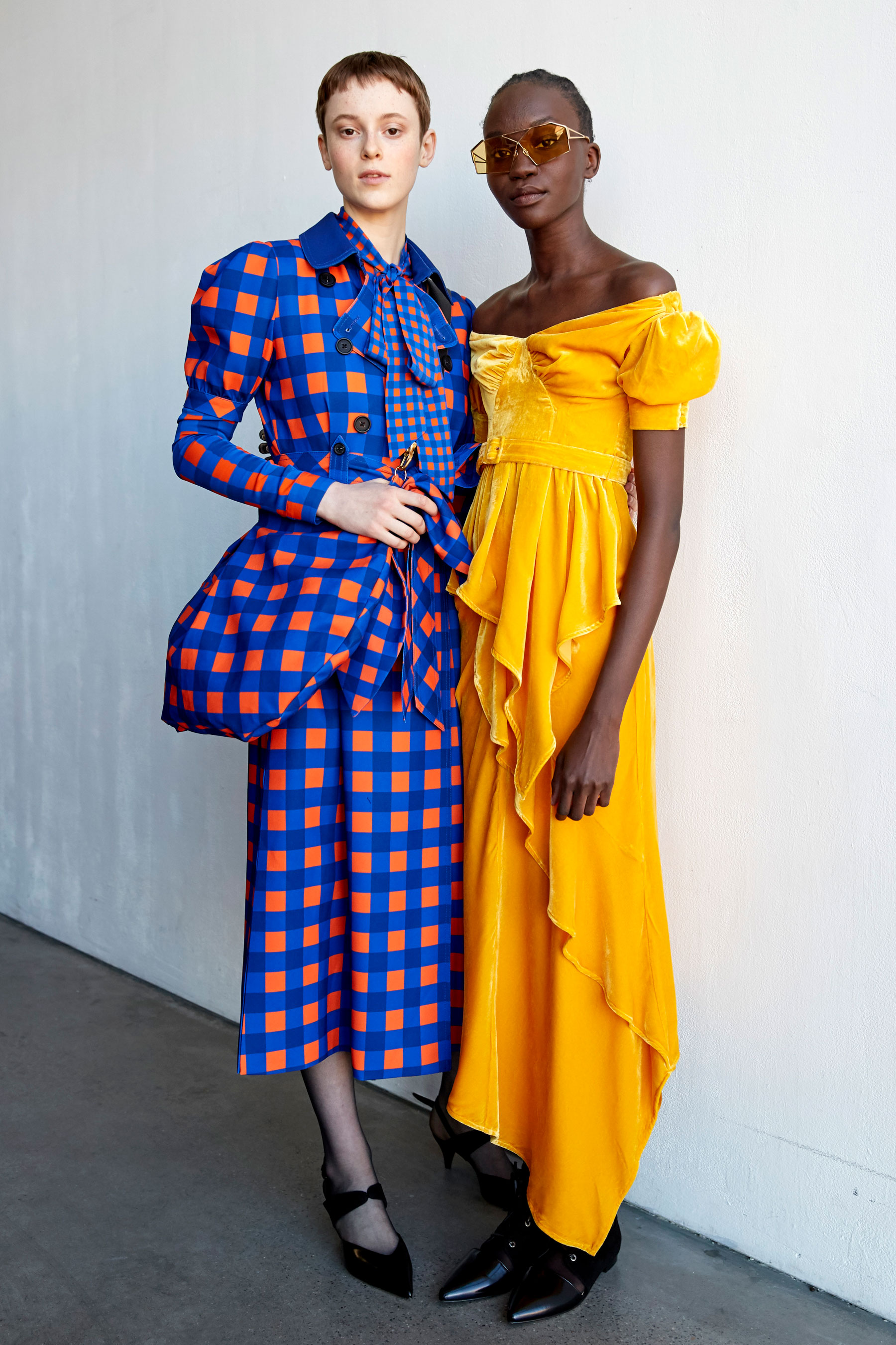 Self-portrait Fall 2019 Fashion Show Backstage