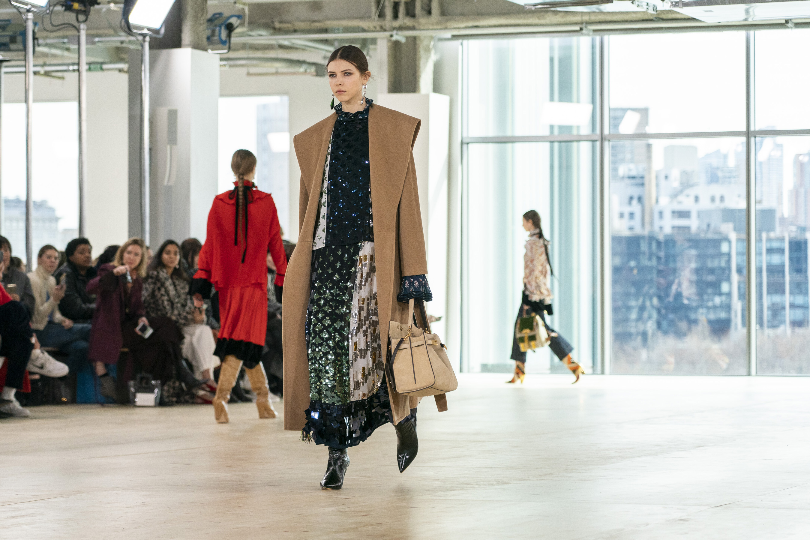 Tory Burch Fall 2019 Fashion Show Atmosphere