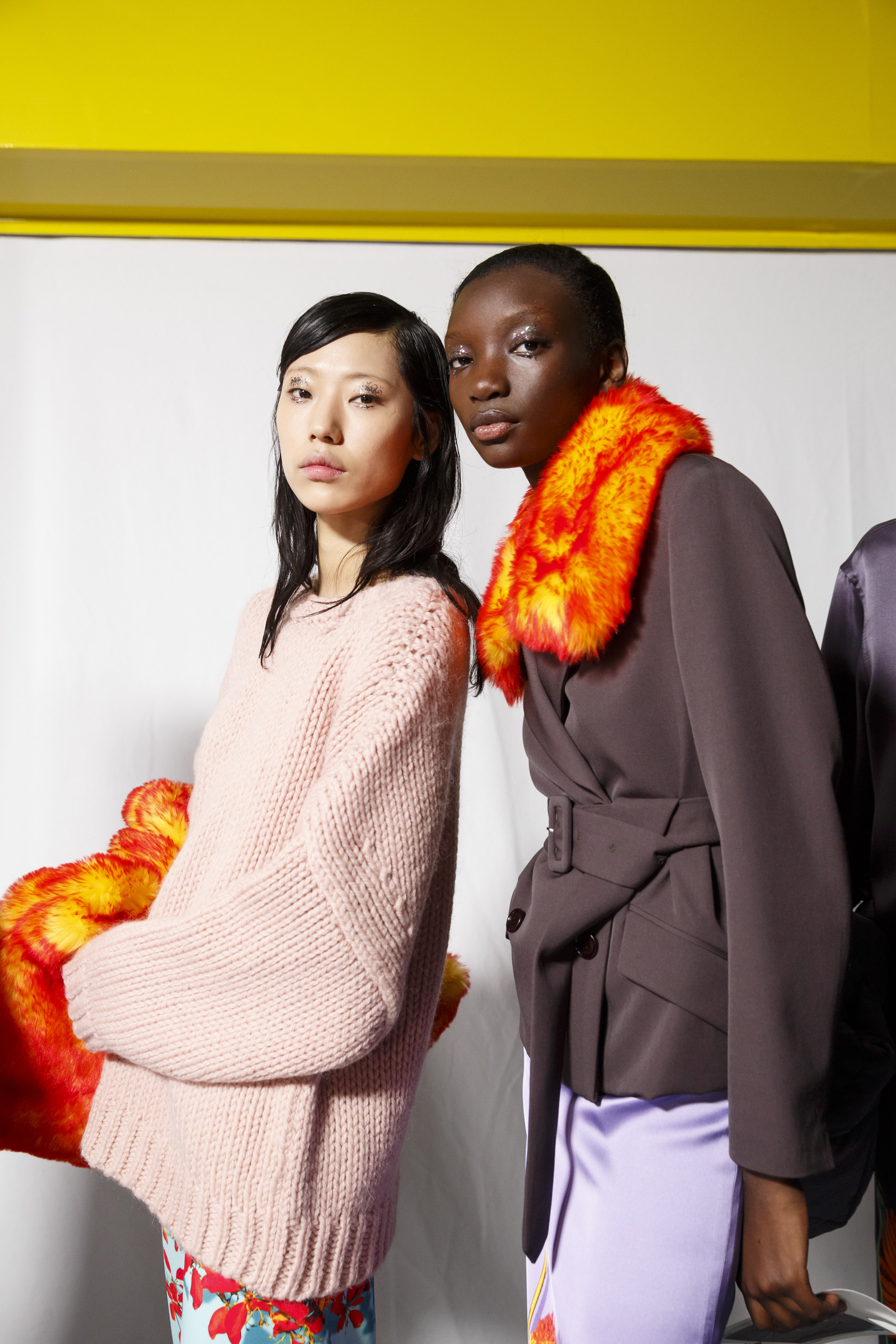Dries Van Noten Fall 2019 Fashion Show Backstage