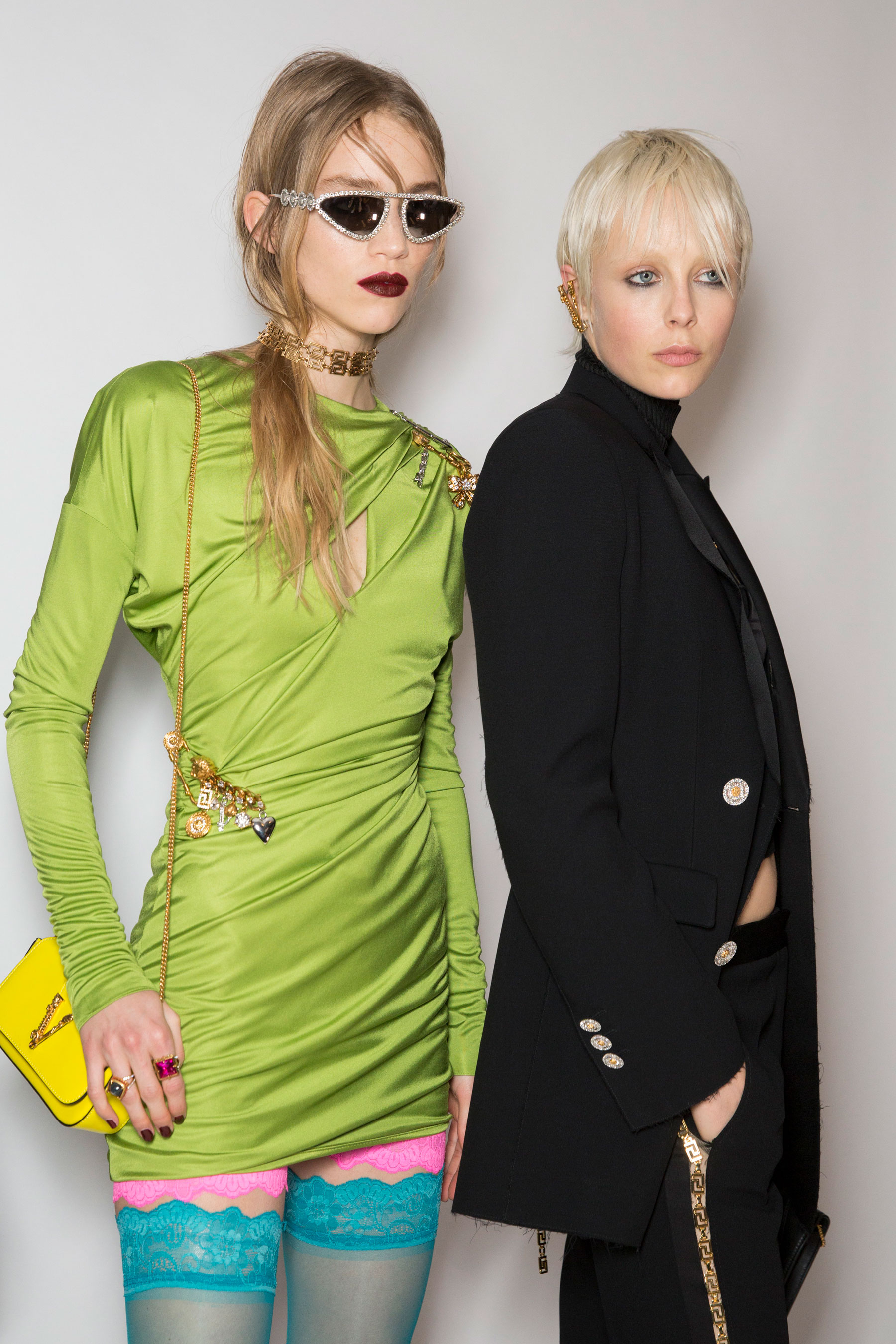 Versace Fall 2019 Fashion Show Backstage