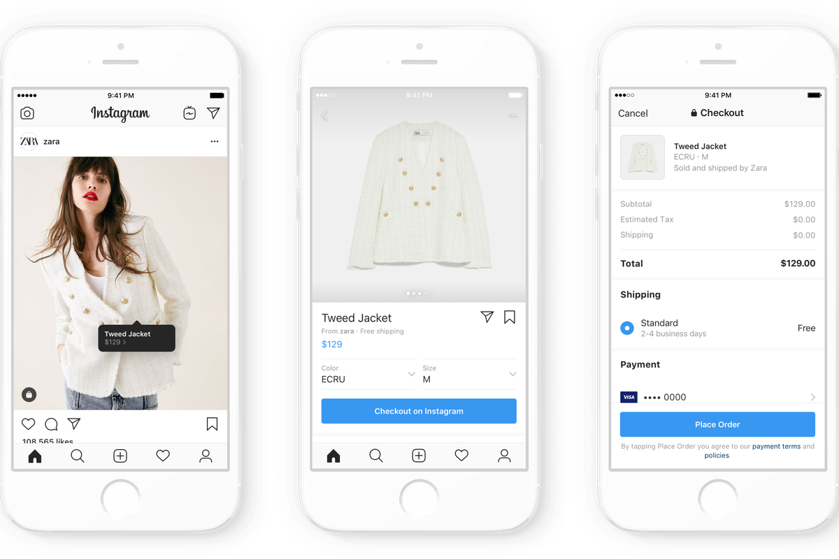 Instagram Launches Shopping With 23 Fashion Brands