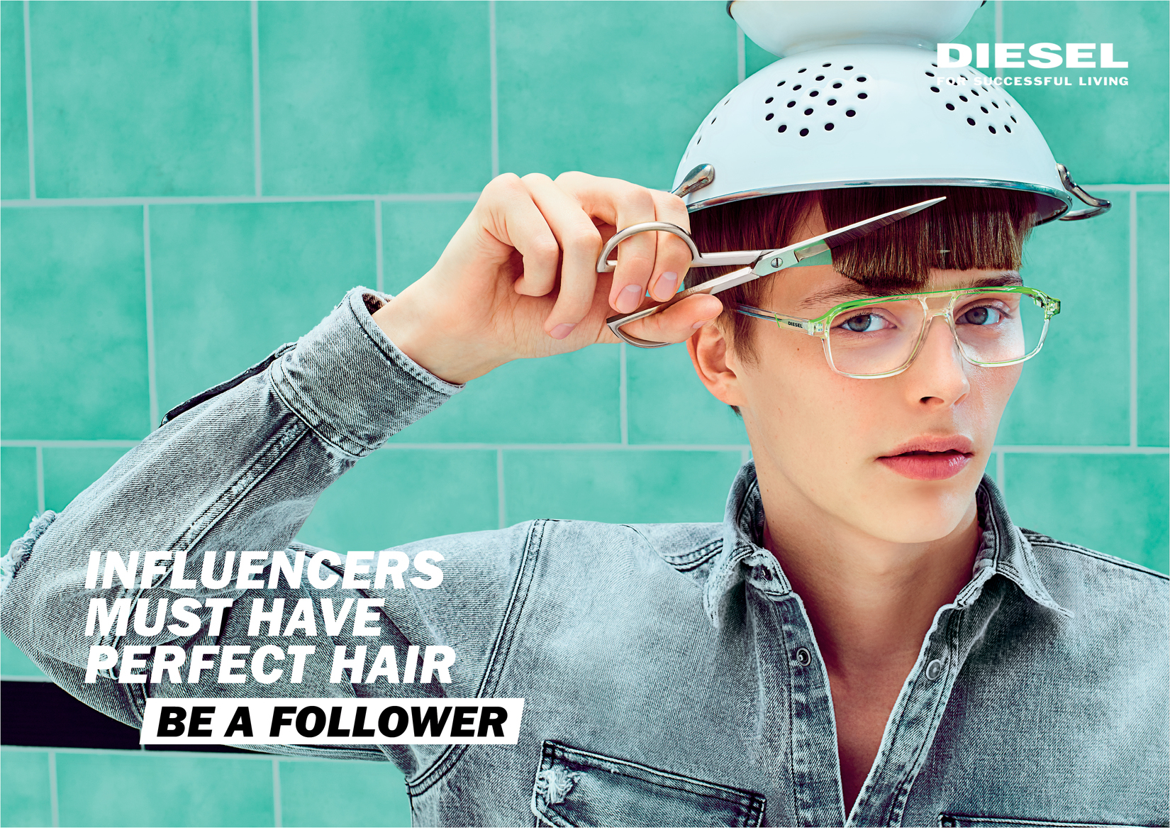 Diesel Be A Follower Spring 2019 Ad Campaign