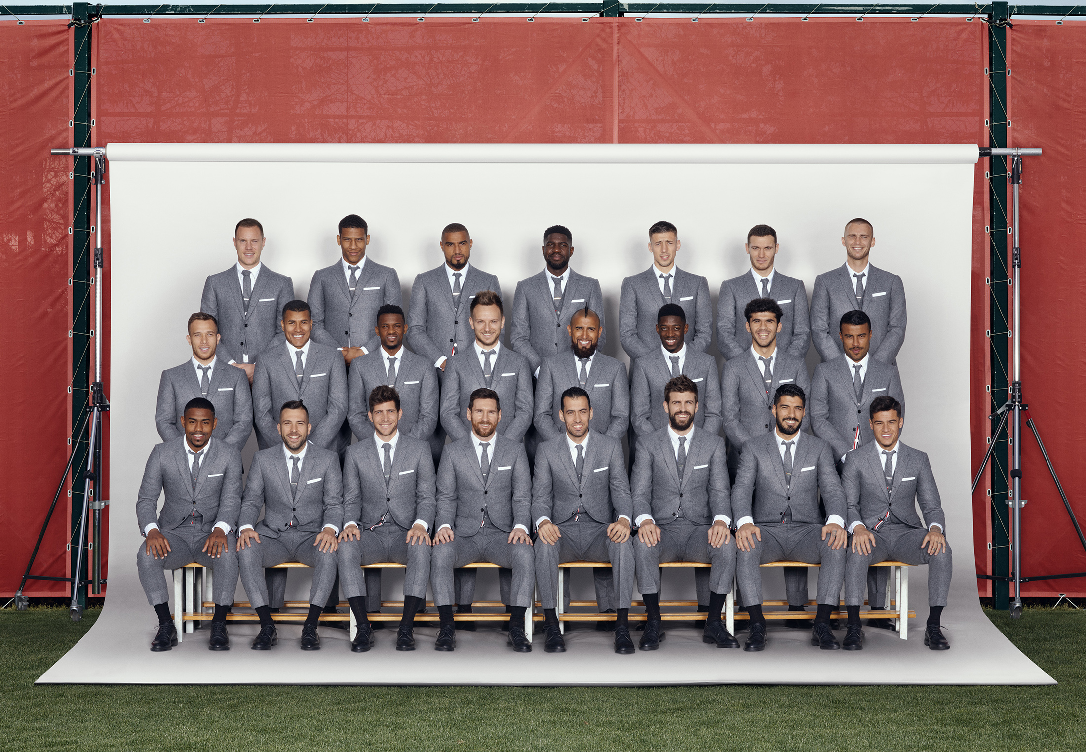 Thom Browne Dresses Fc Barcelona The Impression