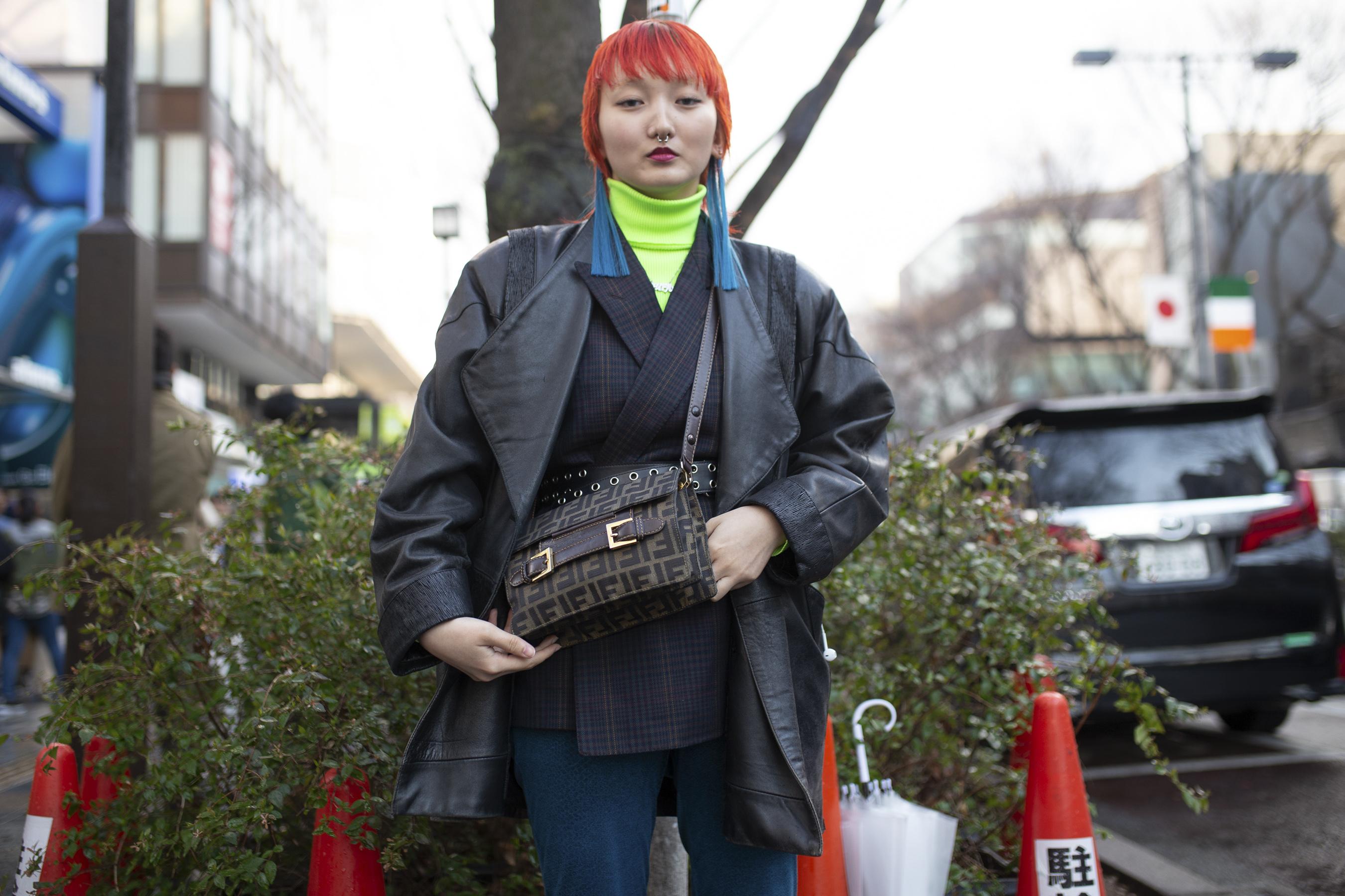 Tokyo Fashion Week Street Style Fall 2019 Day 1