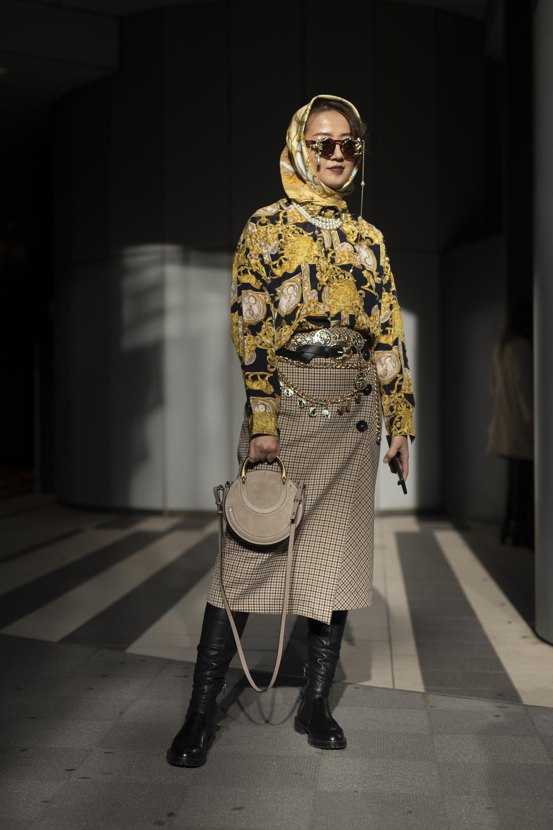 Tokyo Fashion Week Street Style Fall 2019 Day 2