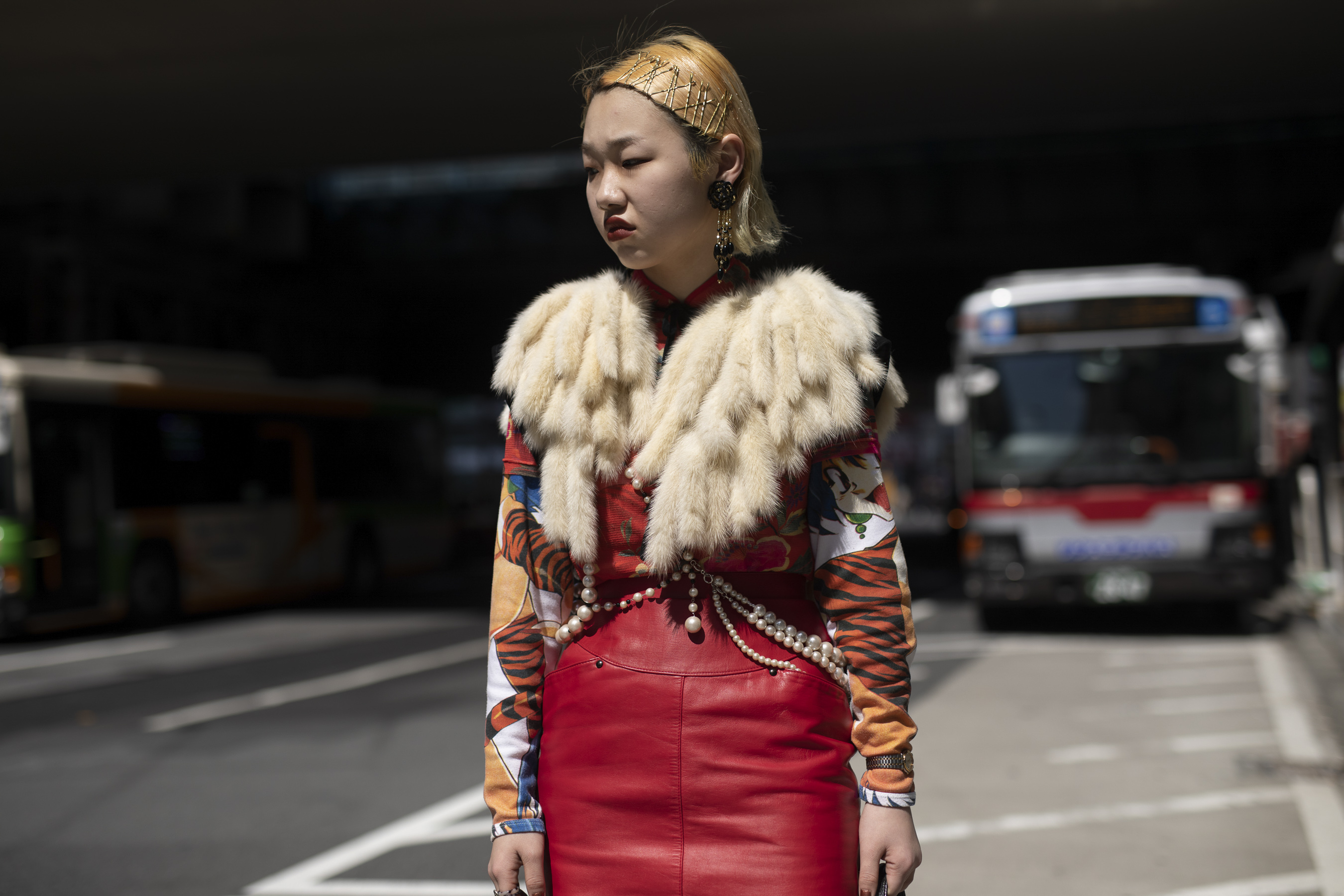 Tokyo Fashion Week Street Style Fall 2019 Day 3