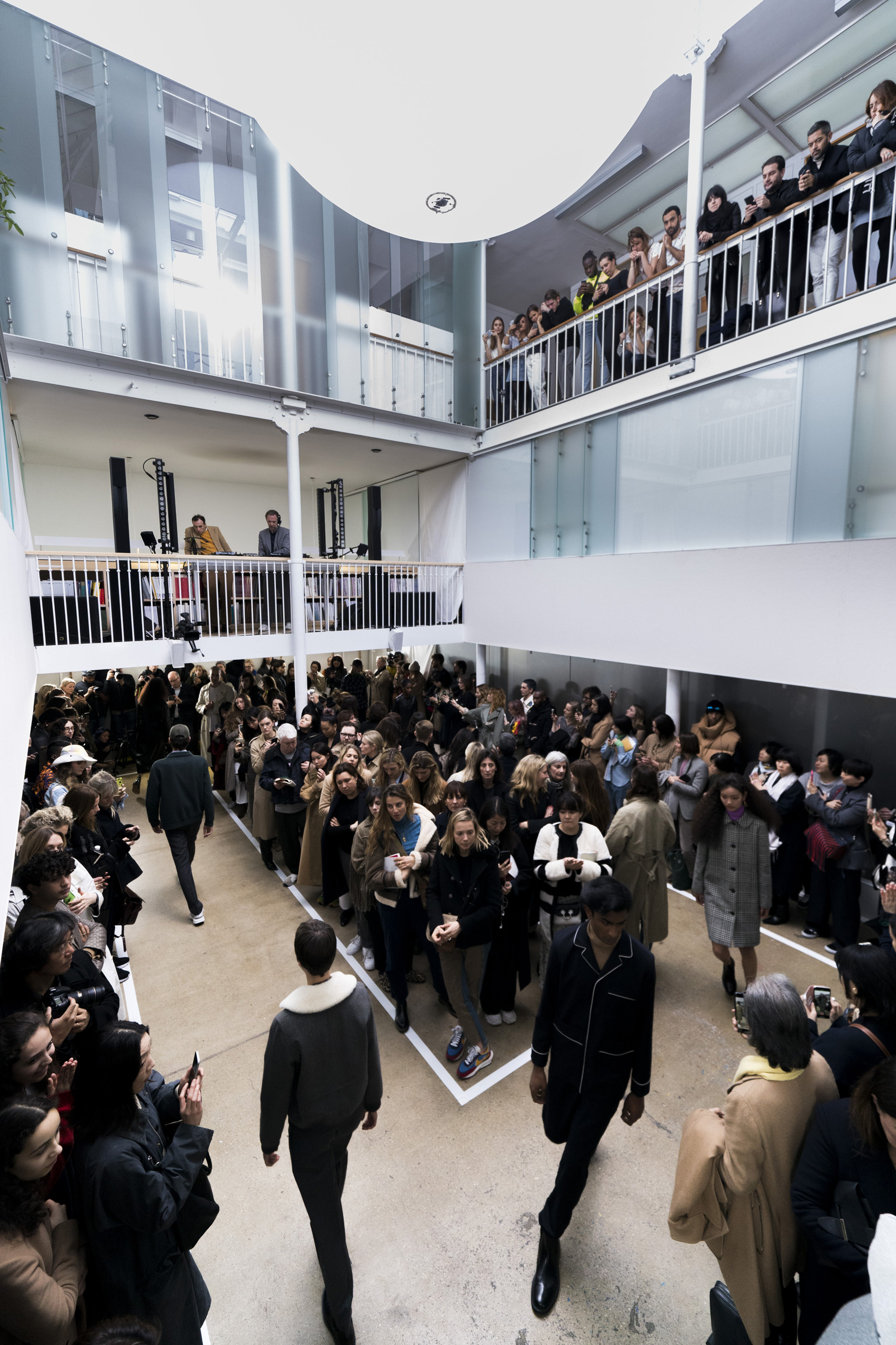 A.P.C. Fall 2019 Fashion Show Atmosphere