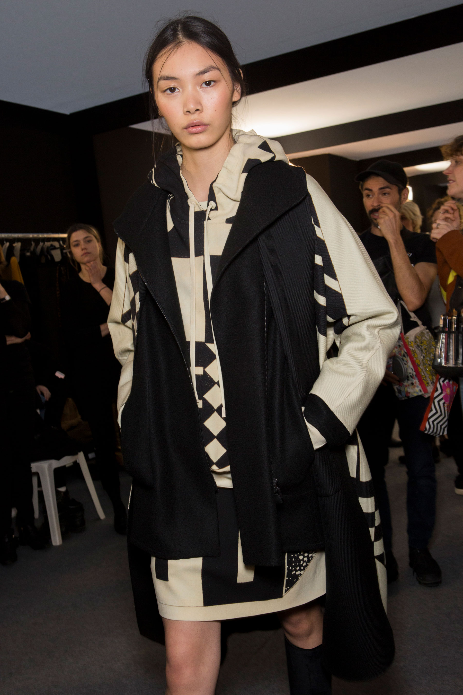 Akris Fall 2019 Fashion Show Backstage