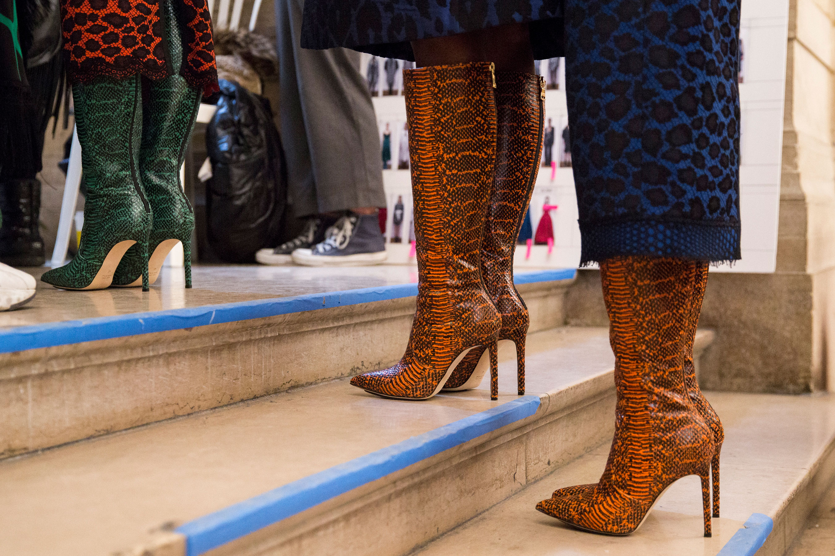 The Best Backstage Photos From Paris Fashion Week Fall 2019