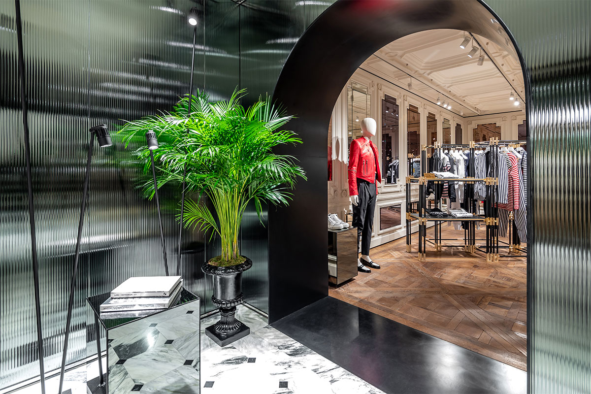 Balmain Opens Paris Flagship Store
