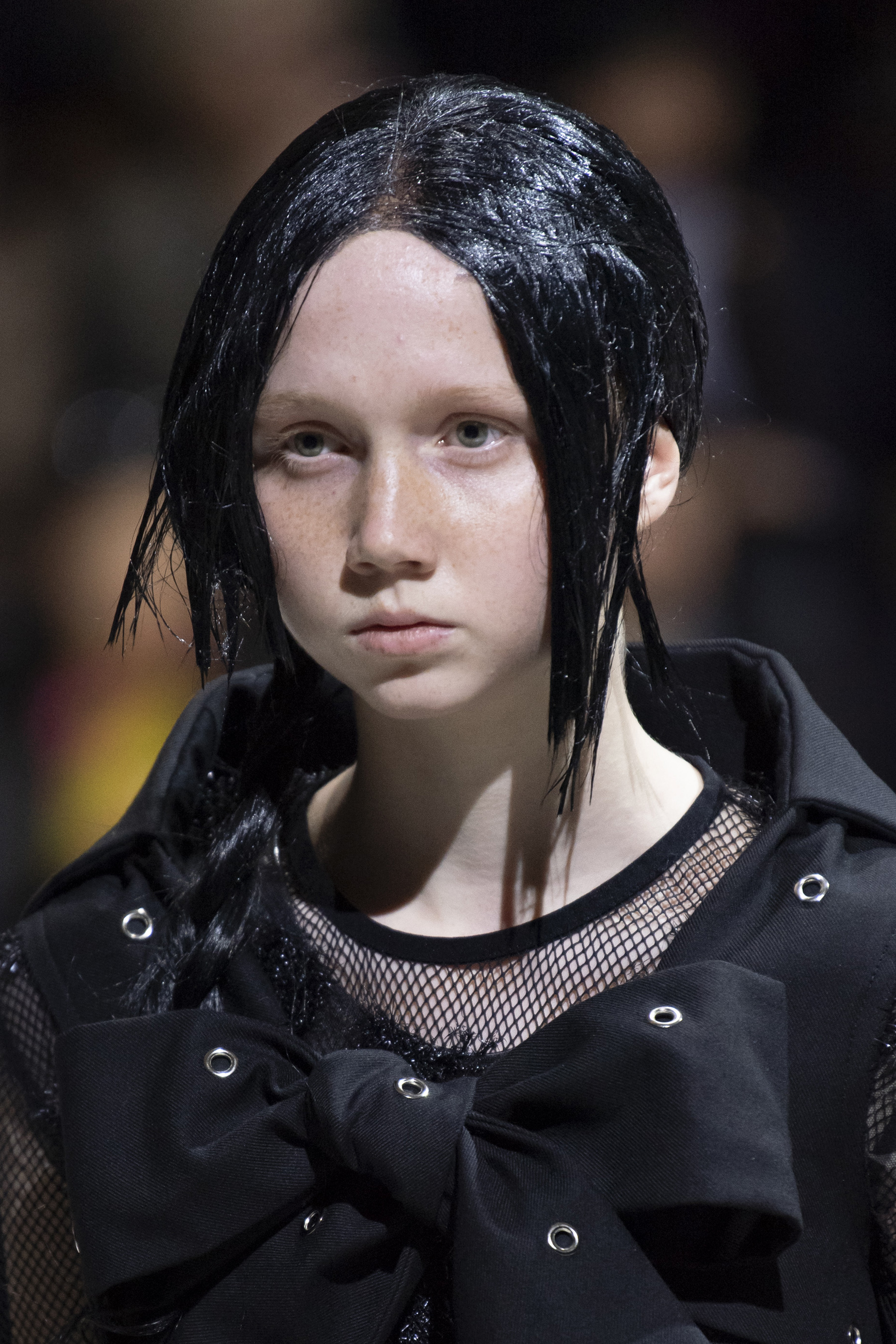 Comme Des Garcons Fall 2019 Fashion Show Beauty