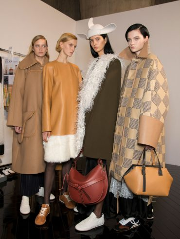 Loewe Fall 2019 Fashion Show Backstage