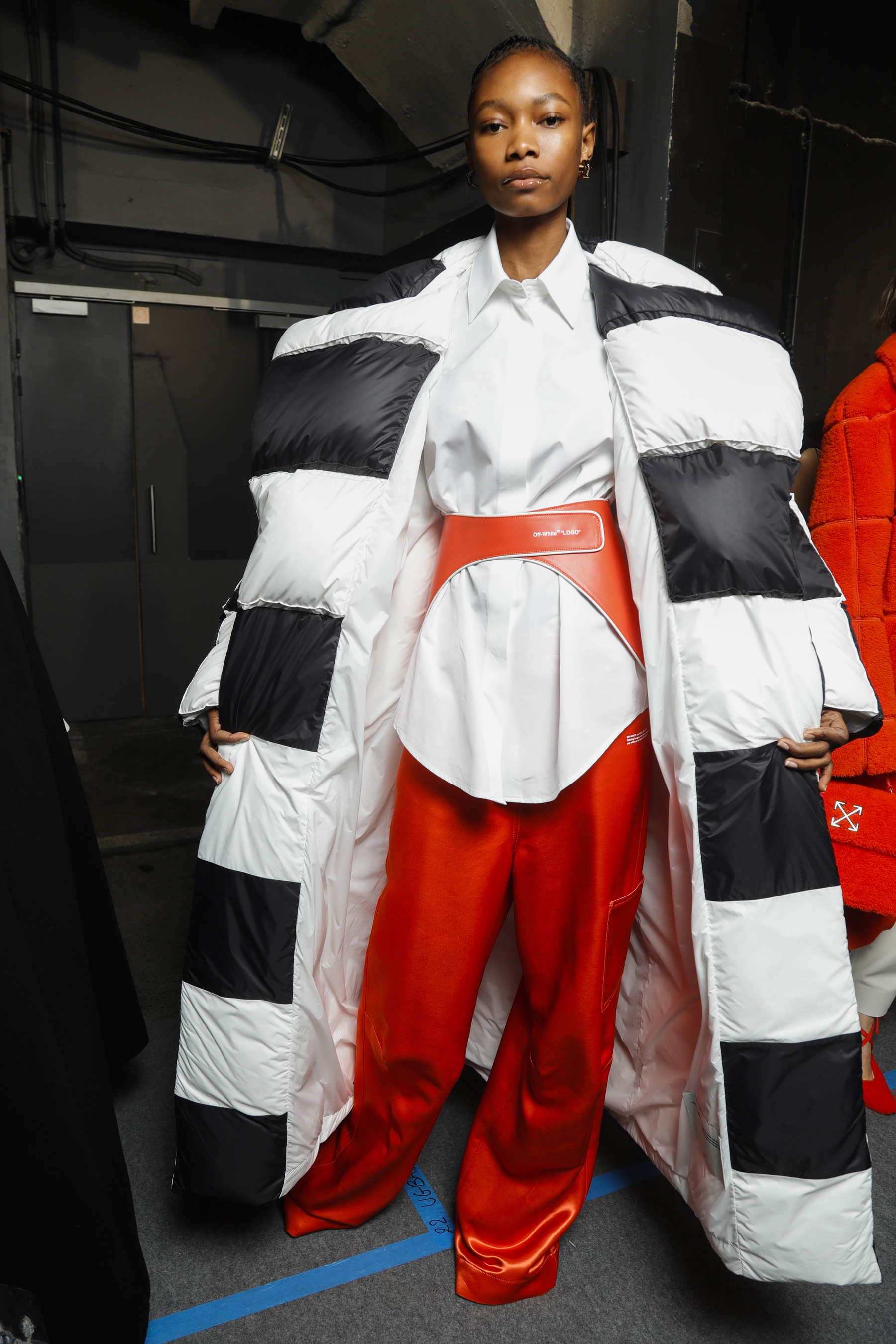 Off-white Fall 2019 Fashion Show Backstage