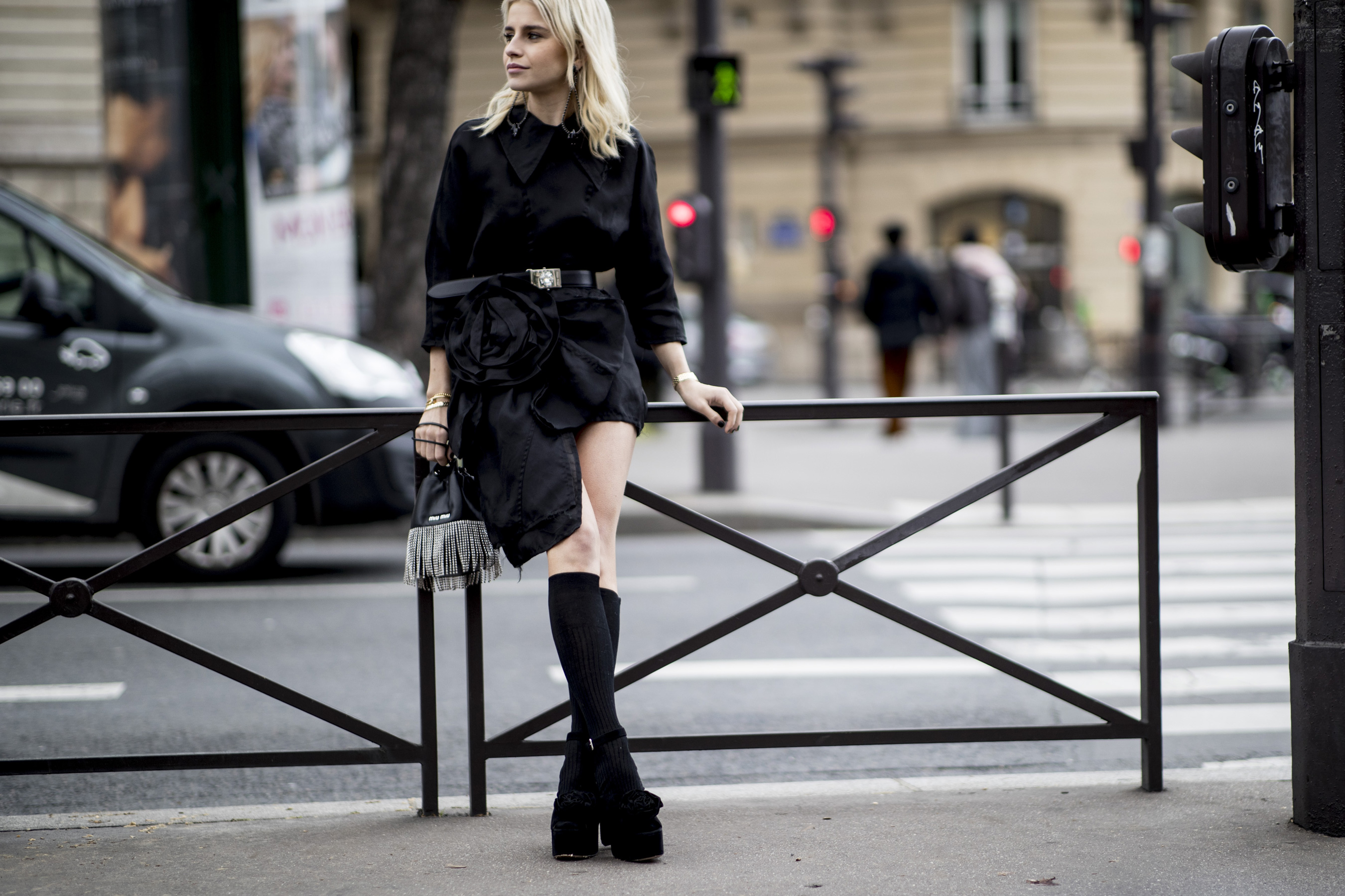 Paris Fashion Week Street Style Fall 2019 Day