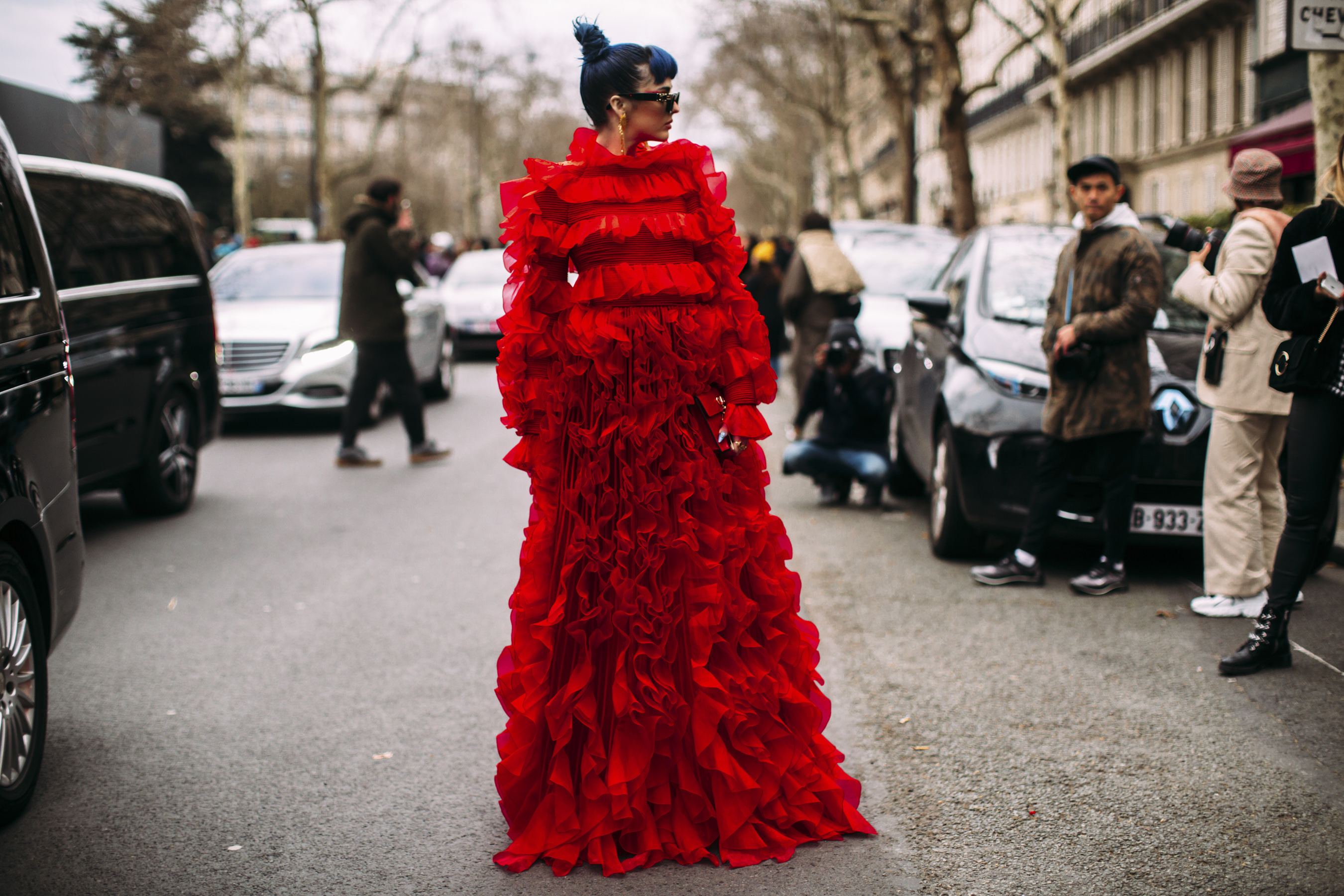 Best Street Style Photos From Paris Fashion Week Fall 2019