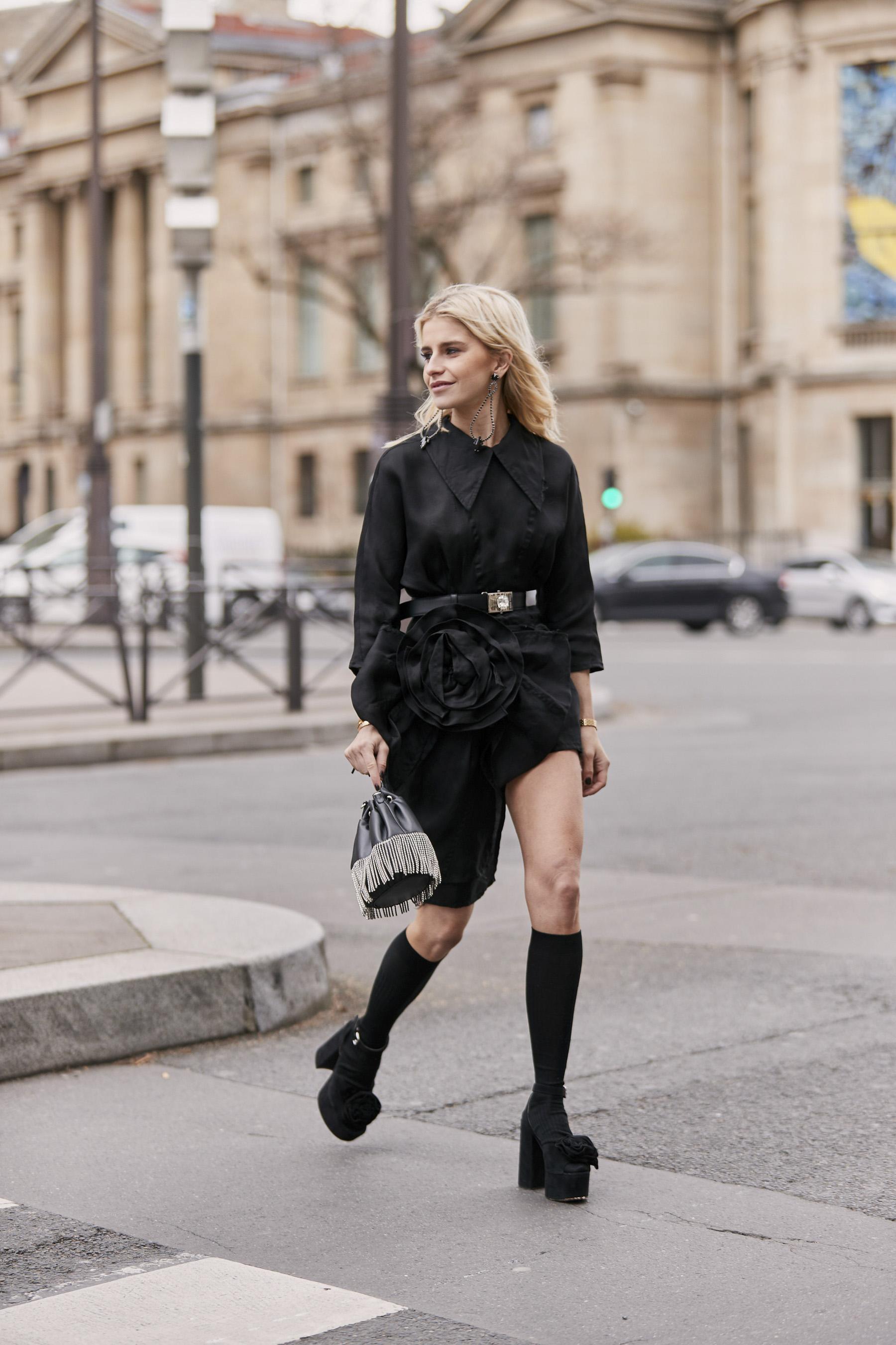 Paris Fashion Week Street Style More Fall 2019 Day 8