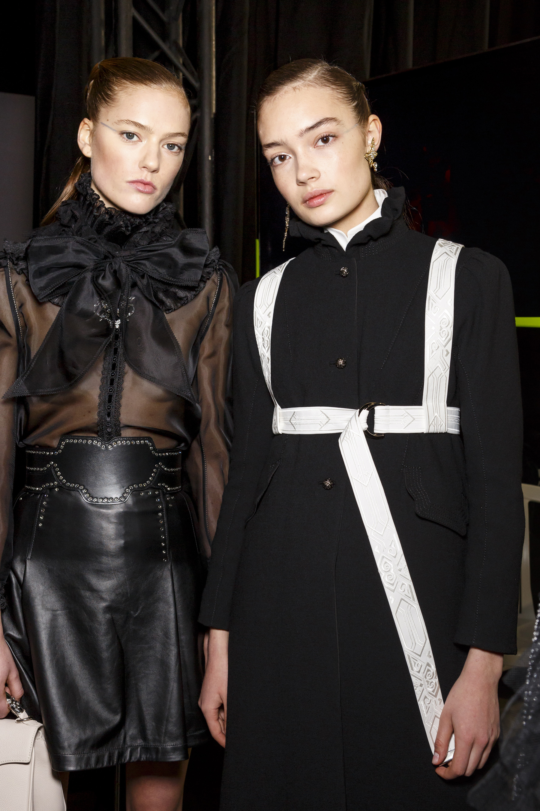 Shiatzychen Fall 2019 Fashion Show Backstage