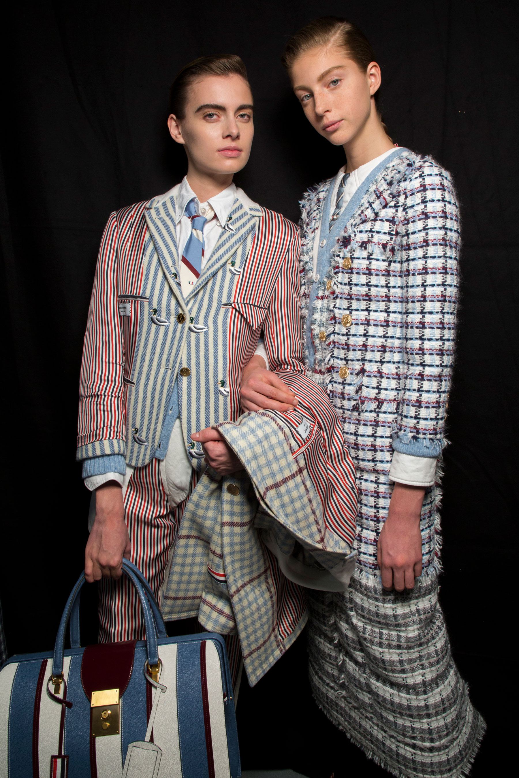 Thom Browne Fall 2019 Fashion Show Backstage