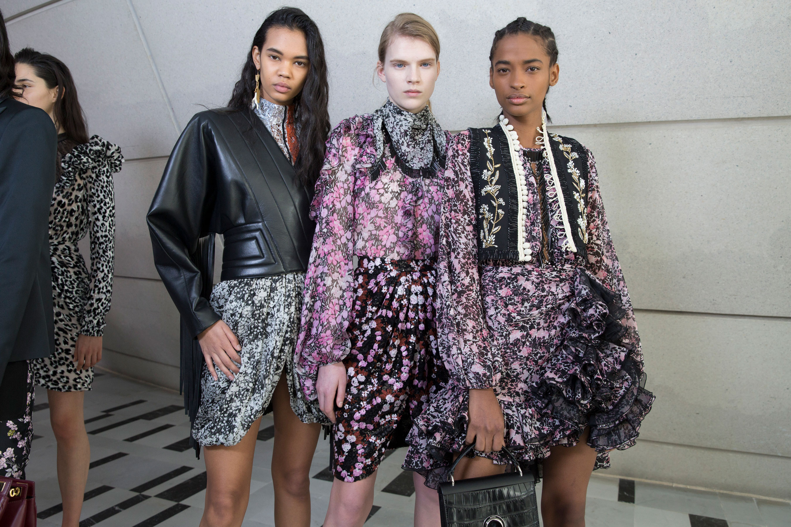 Giambattista Valli Fall 2019 Fashion Show Backstage
