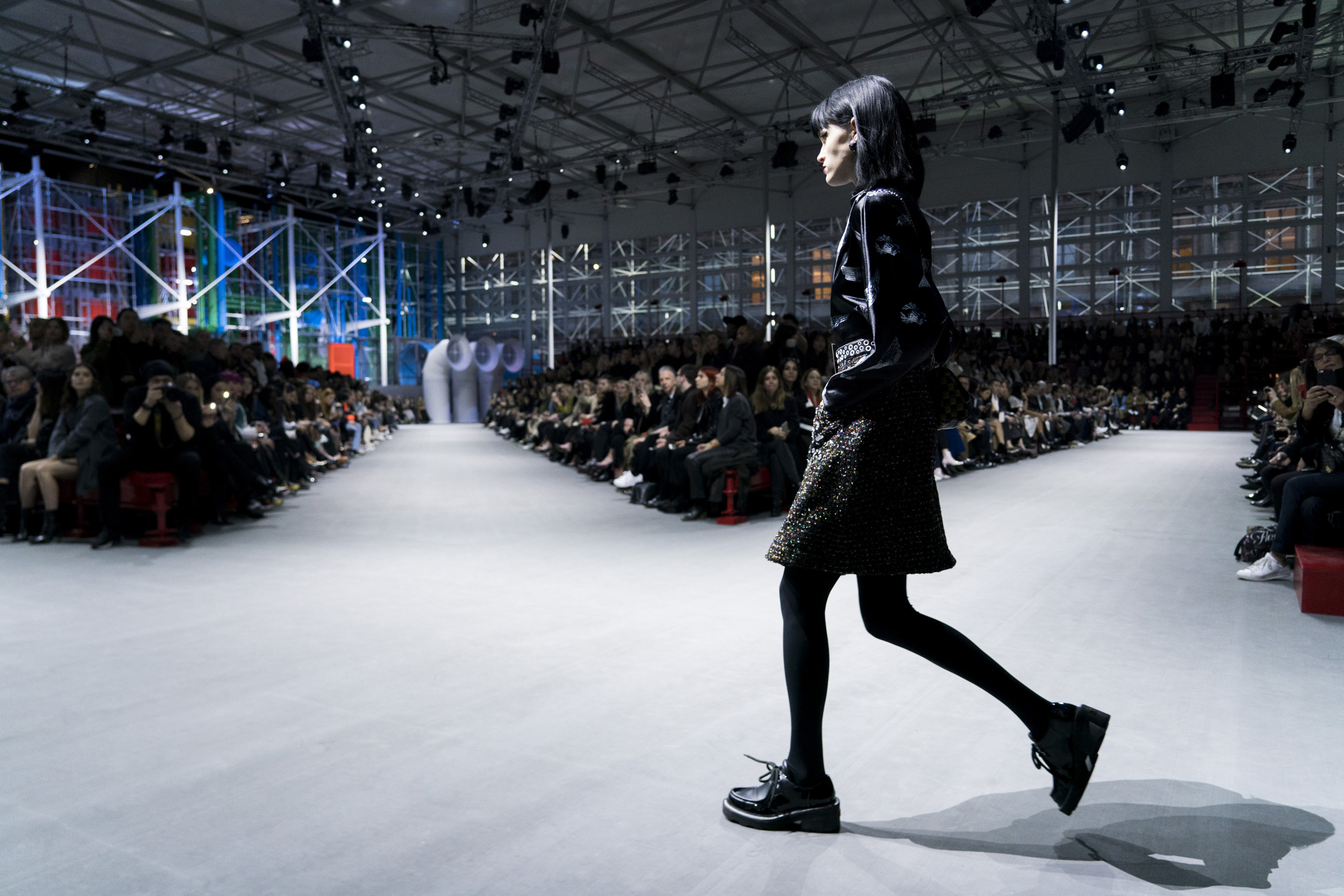 Louis Vuitton Fall 2019 Fashion Show Atmosphere