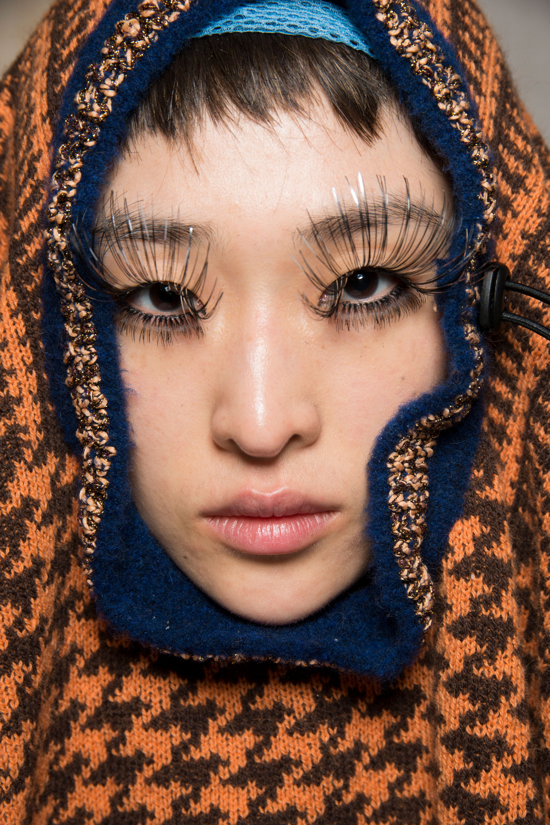 Vivienne Westwood Fall 2019 Fashion Show Backstage Beauty