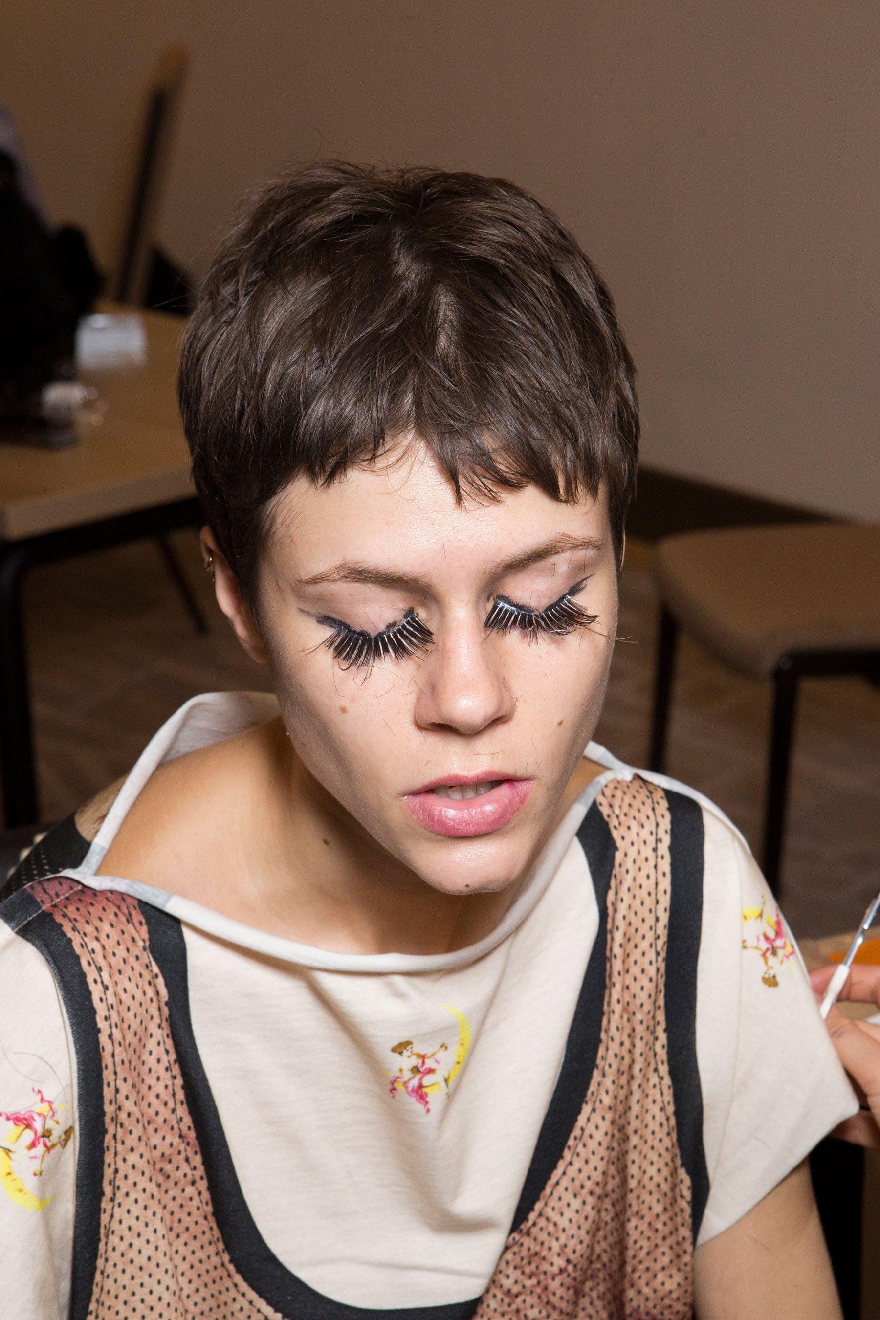 Vivienne Westwood Fall 2019 Fashion Show Backstage