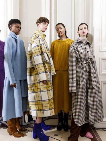 Christian Wijnants Fall 2019 Fashion Show Backstage