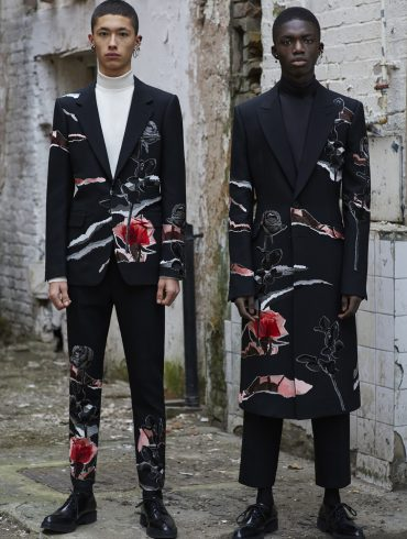 Alexander McQueen Fall 2019 Menswear Collectio